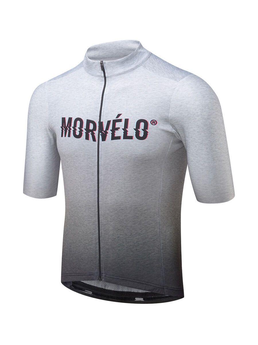 Morvelo Noise Standard SS Jersey, grey - Radtrikot, Größe L NOISEMJ-LG