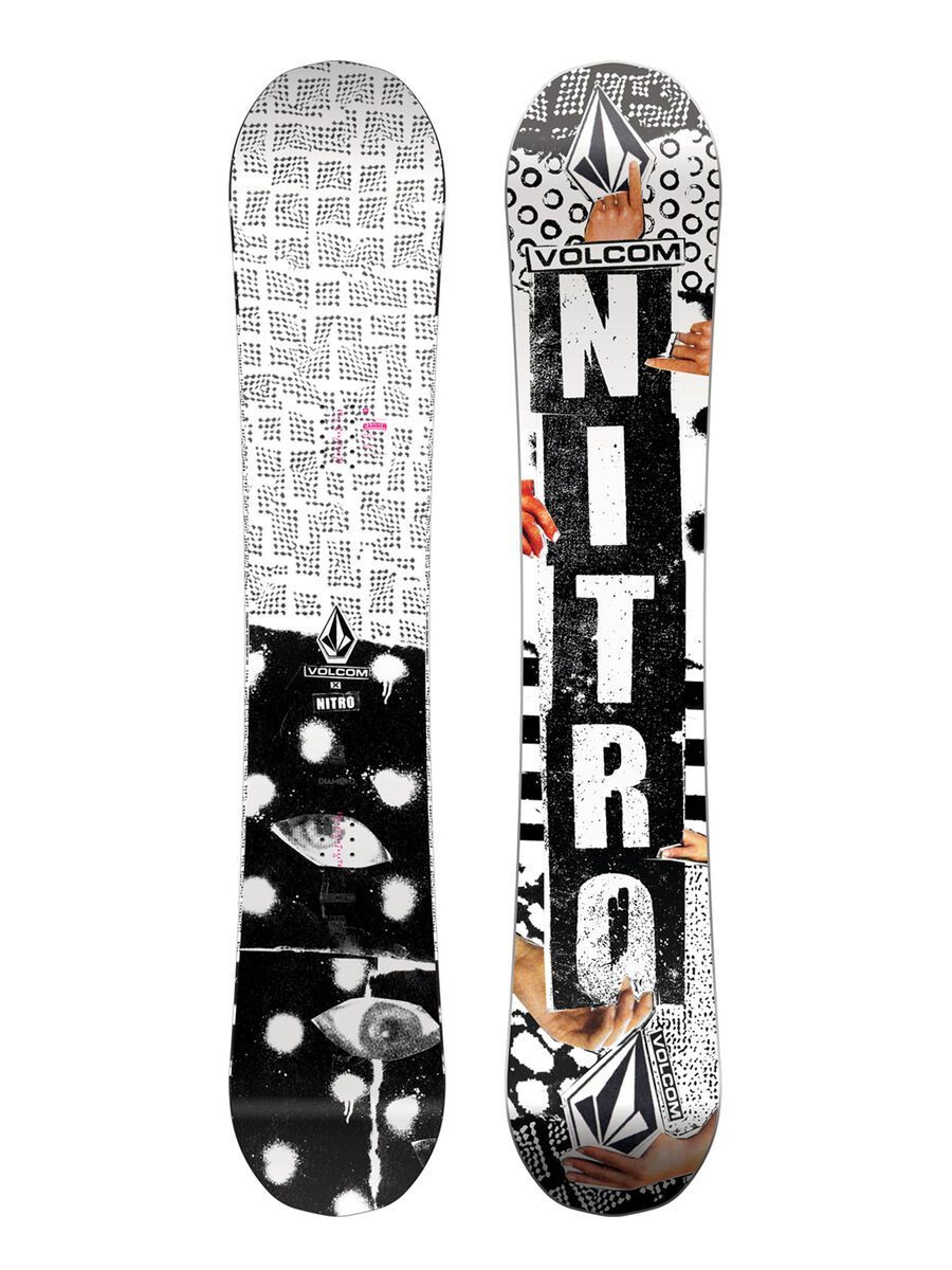 Nitro Beast x Volcom 2020 - Snowboard, Größe 158 cm 1201-830446-3001-158