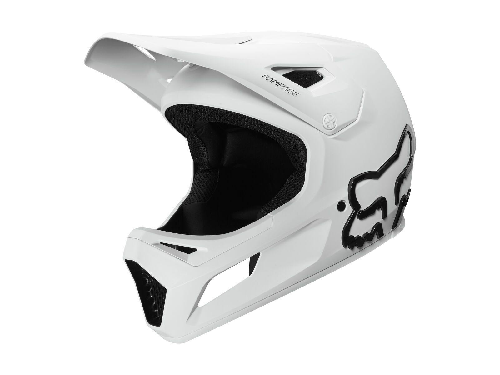 Fox Rampage Helmet white L // 59-60 cm 27509-008-L