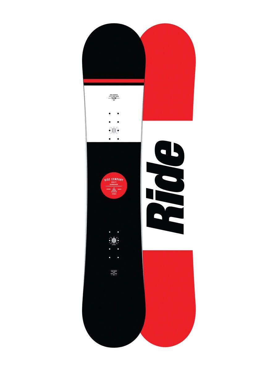 Set: Ride Agenda Wide 2017 + Ride Revolt 2016, aqua - Snowboardset   Bild 2