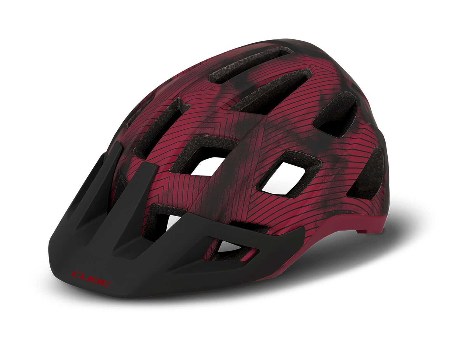 Cube Helm Badger red S // 52-56 cm 162440286