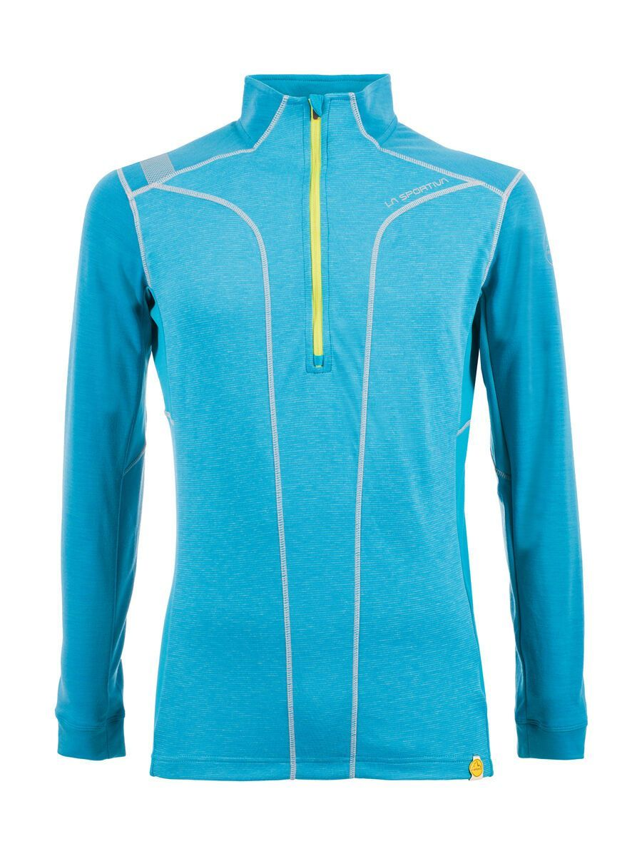 La Sportiva Ionosphere Long Sleeve M, tropic blue - Funktionsshirt, Größe S B80-S