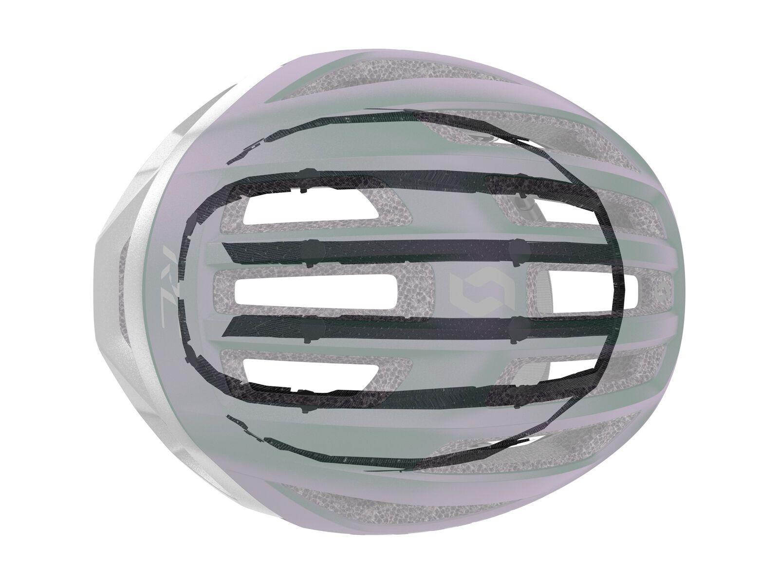 Scott Centric Plus Helmet, vogue silver/reflective | Bild 7