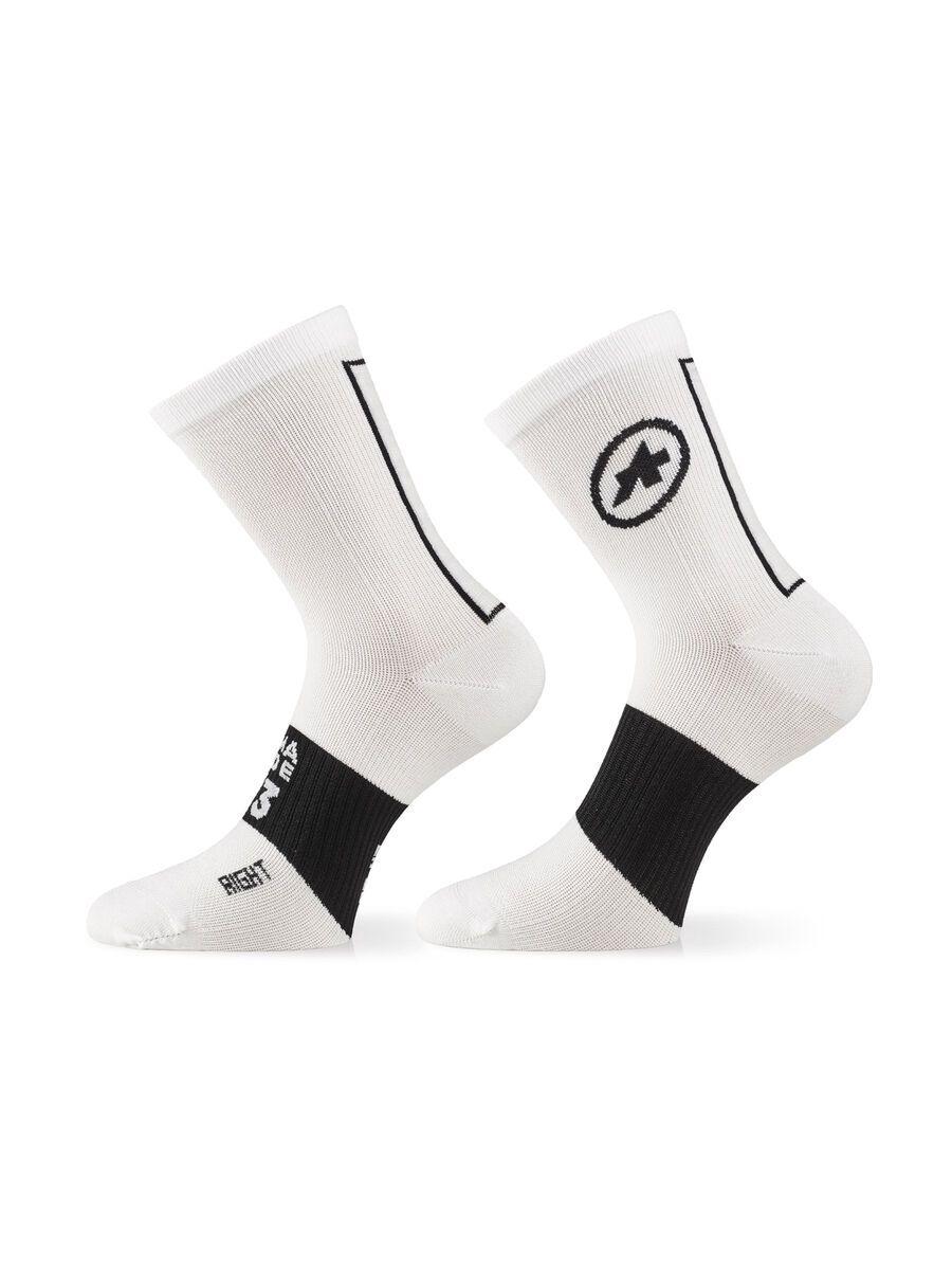 Assos Assosoires Socks holy white 43-46 P13.60.684.57.II