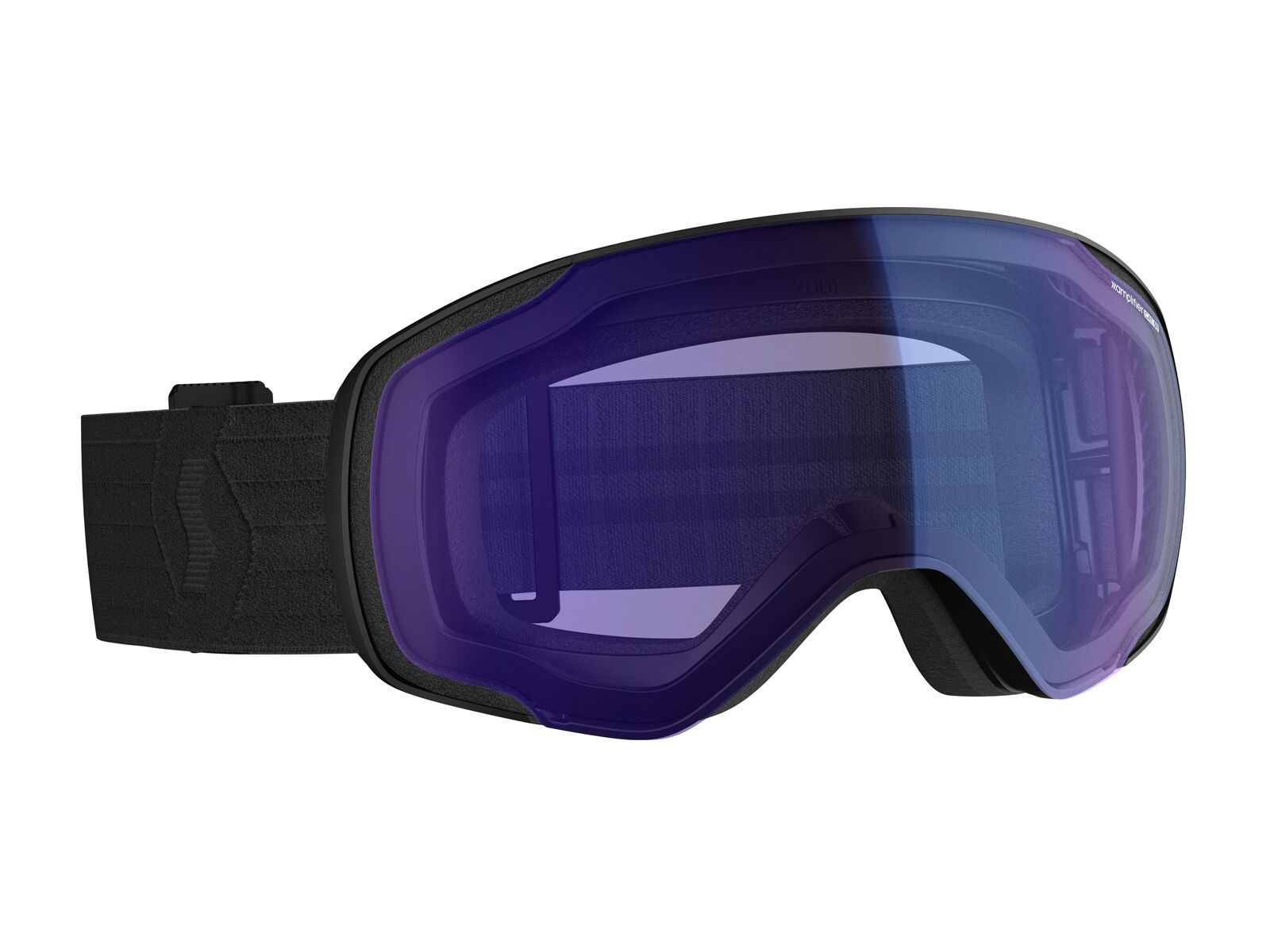 Scott Vapor, black /Lens: illuminator blue chrome - Skibrille 2718100001342
