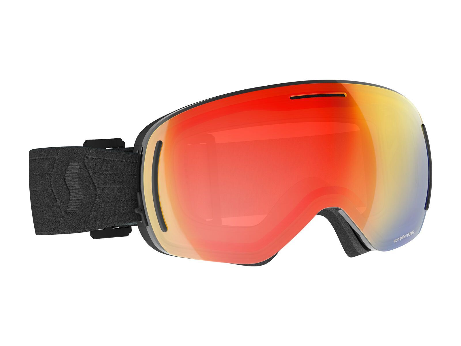 Scott LCG Evo Goggle inkl. WS, black/Lens: enh red chrome - Skibrille 2778300001312