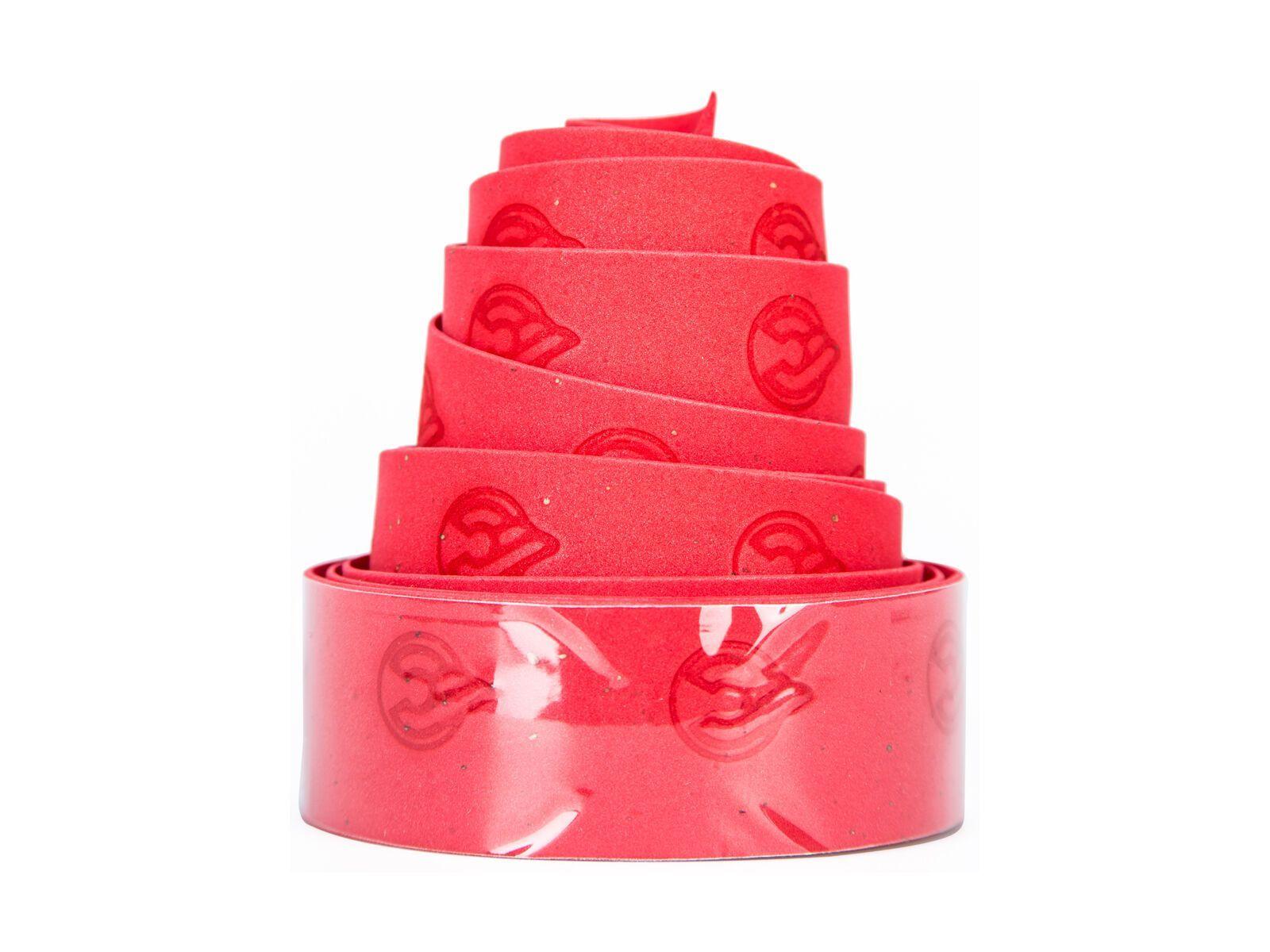 Cinelli Gel Cork Ribbon, red - Lenkerband 70600085