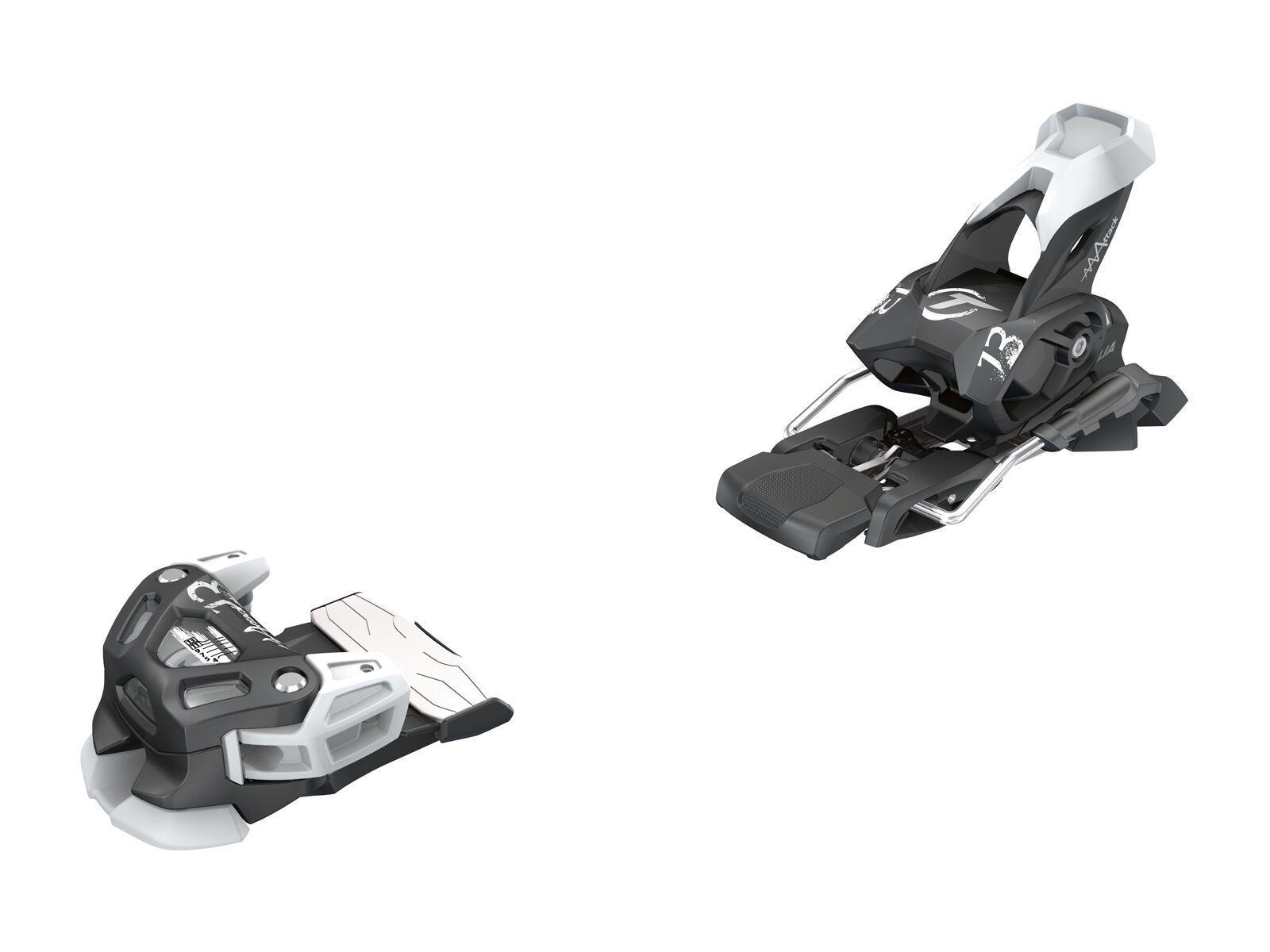 Set: K2 Shreditor 102 2016 + Tyrolia Attack 13 110 mm, solid black white - Skiset   Bild 3