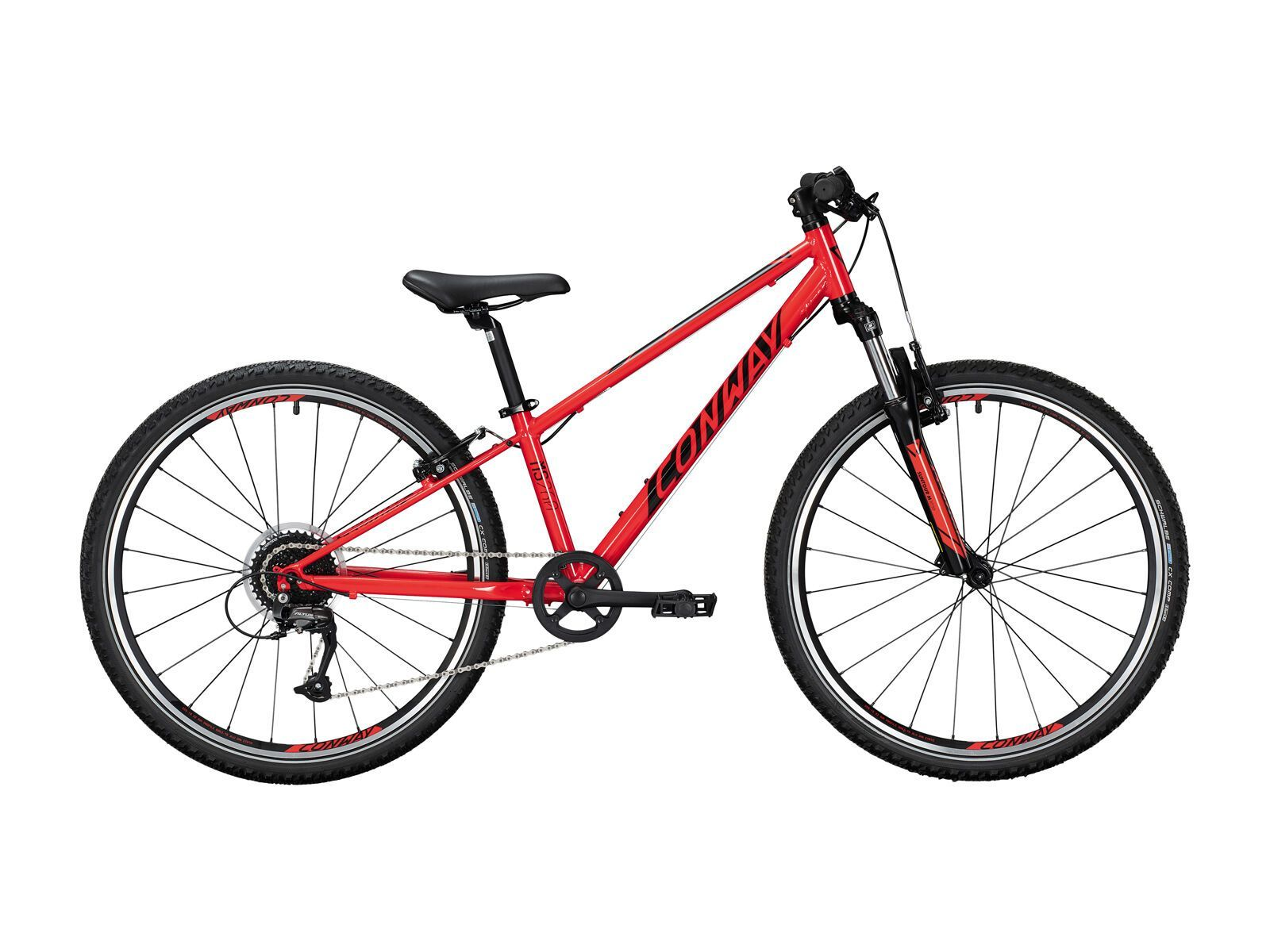 Conway MS 260 Suspension 2021, red/black - Kinderfahrrad, Größe 38 cm 2875805