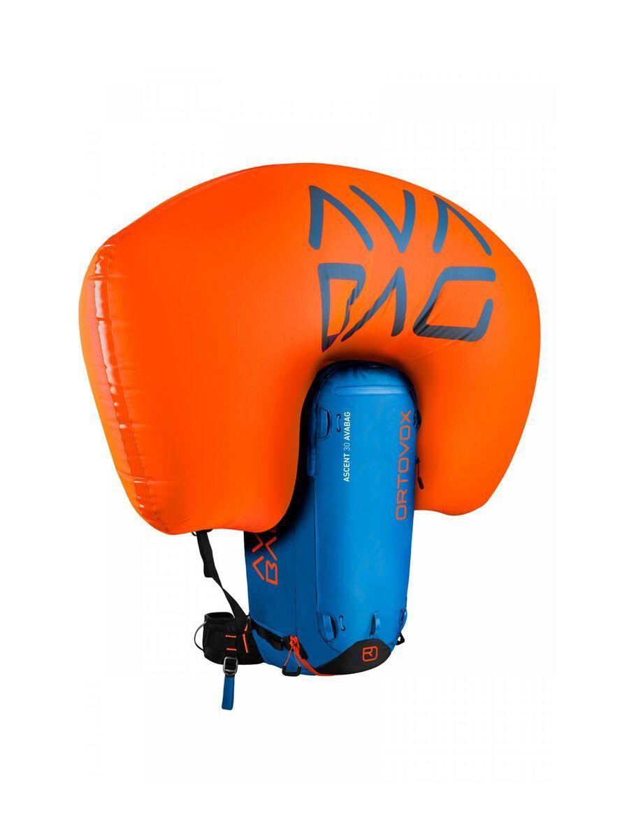 Ortovox Ascent 30 Avabag Kit, ohne Kartusche, safety blue - Lawinenrucksack 4610200003