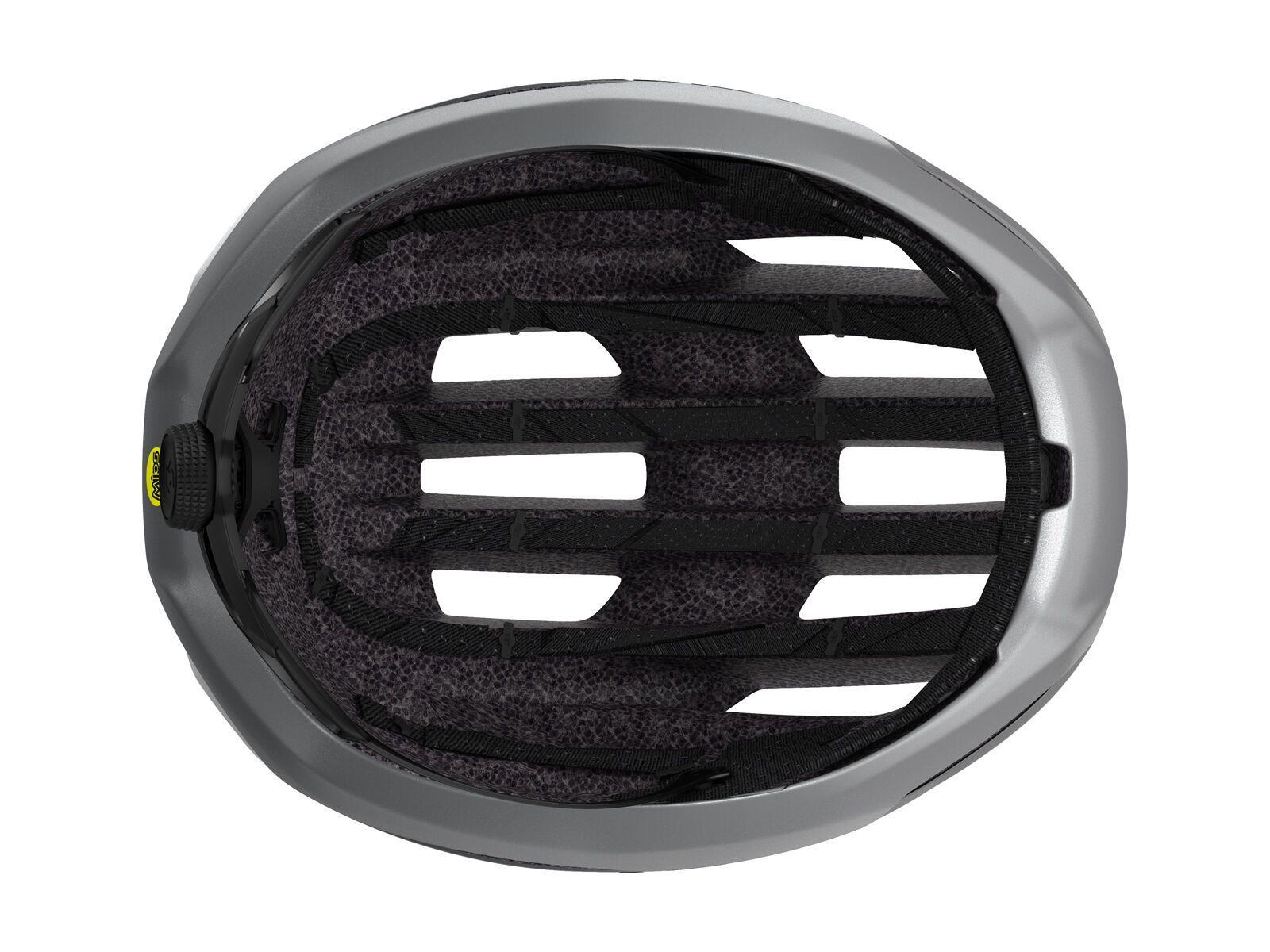 Scott Centric Plus Helmet, vogue silver/reflective | Bild 5