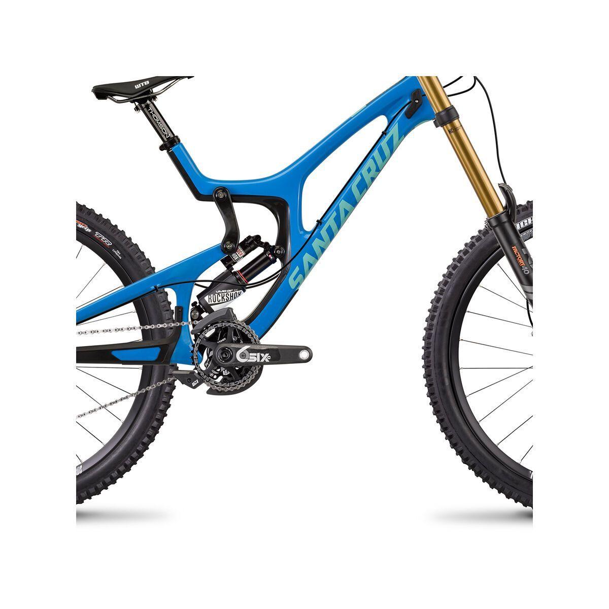 Santa Cruz V10 CC X01 RockShox Vivid Air, blue/mint | Bild 4