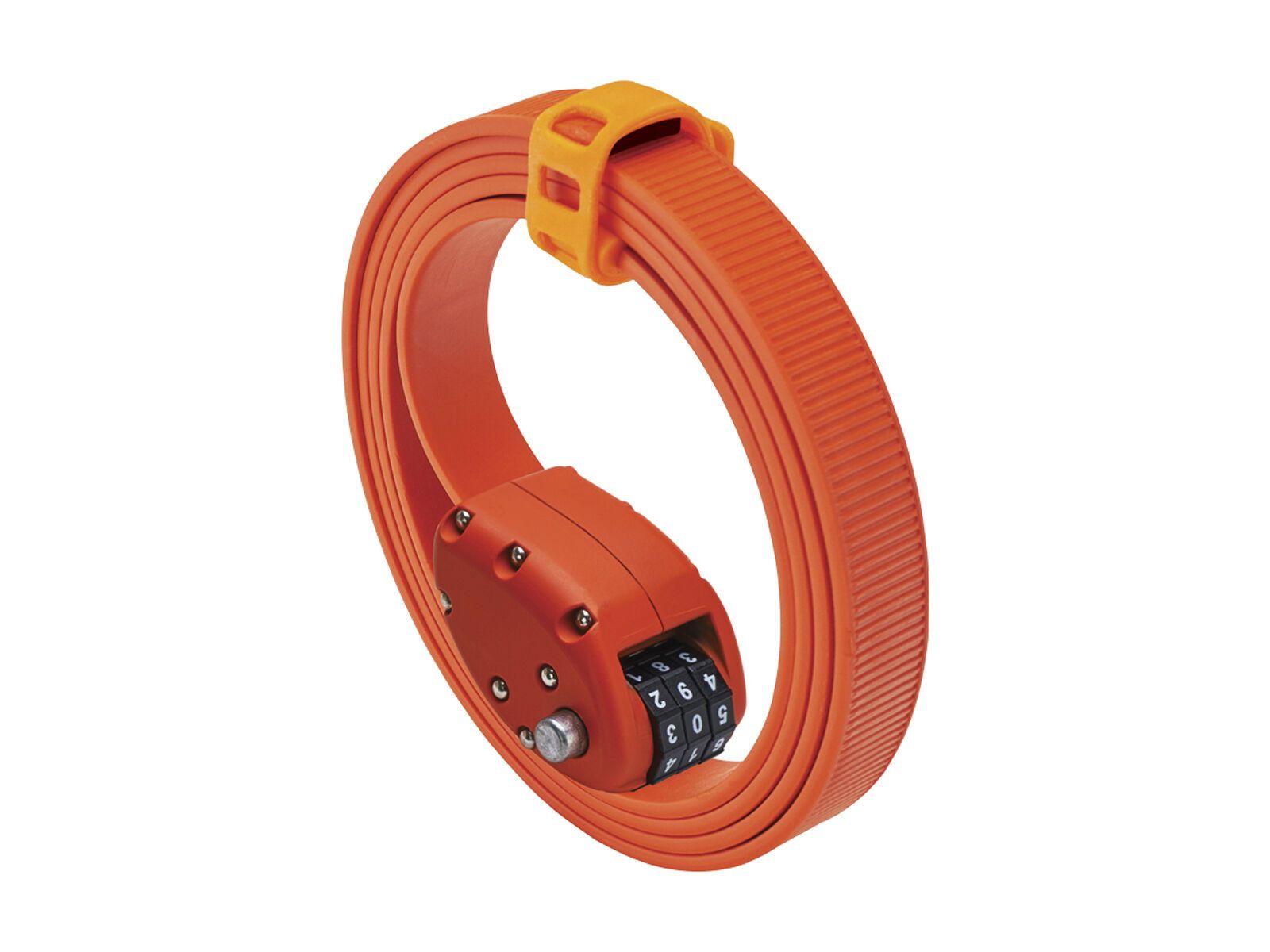 Otto DesignWorks Ottolock Cinch Lock - 152 cm, otto orange - Fahrradschloss 202049