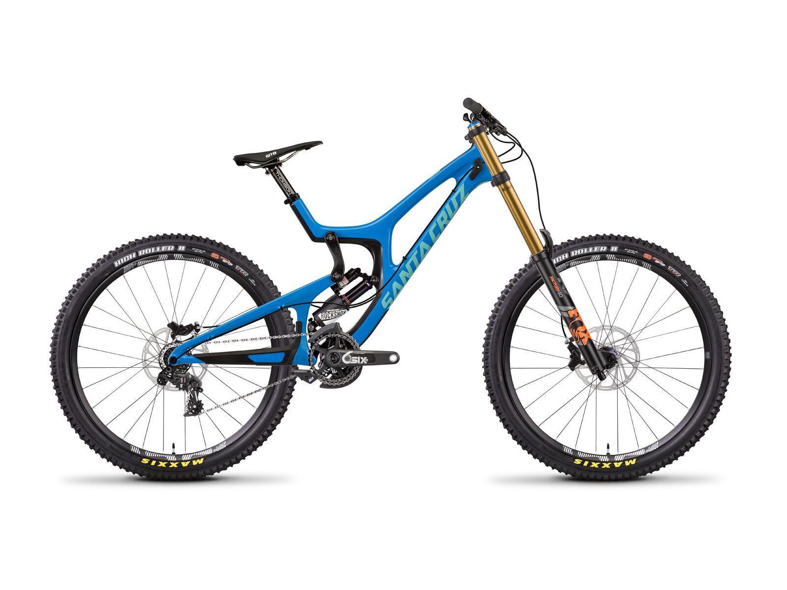 Santa Cruz V10 CC X01 RockShox Vivid Air, blue/mint | Bild 1