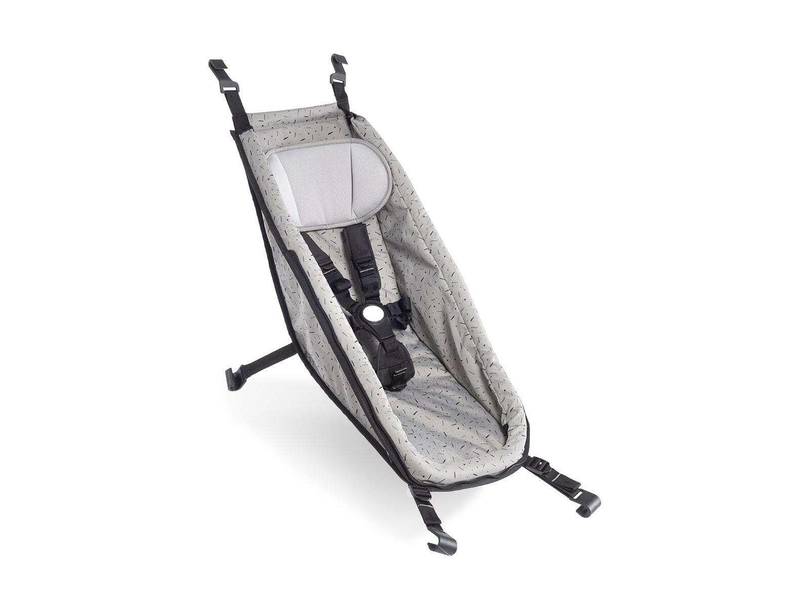 Croozer Babysitz (ab 2014) stone grey/colored 122000420