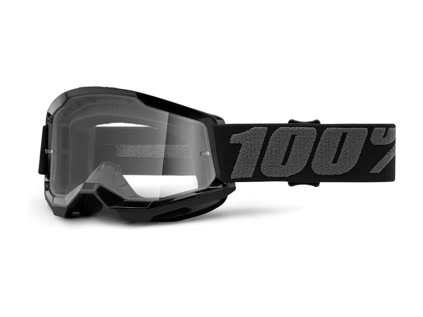100% Strata Jr, black/Lens: clear | Bild 1