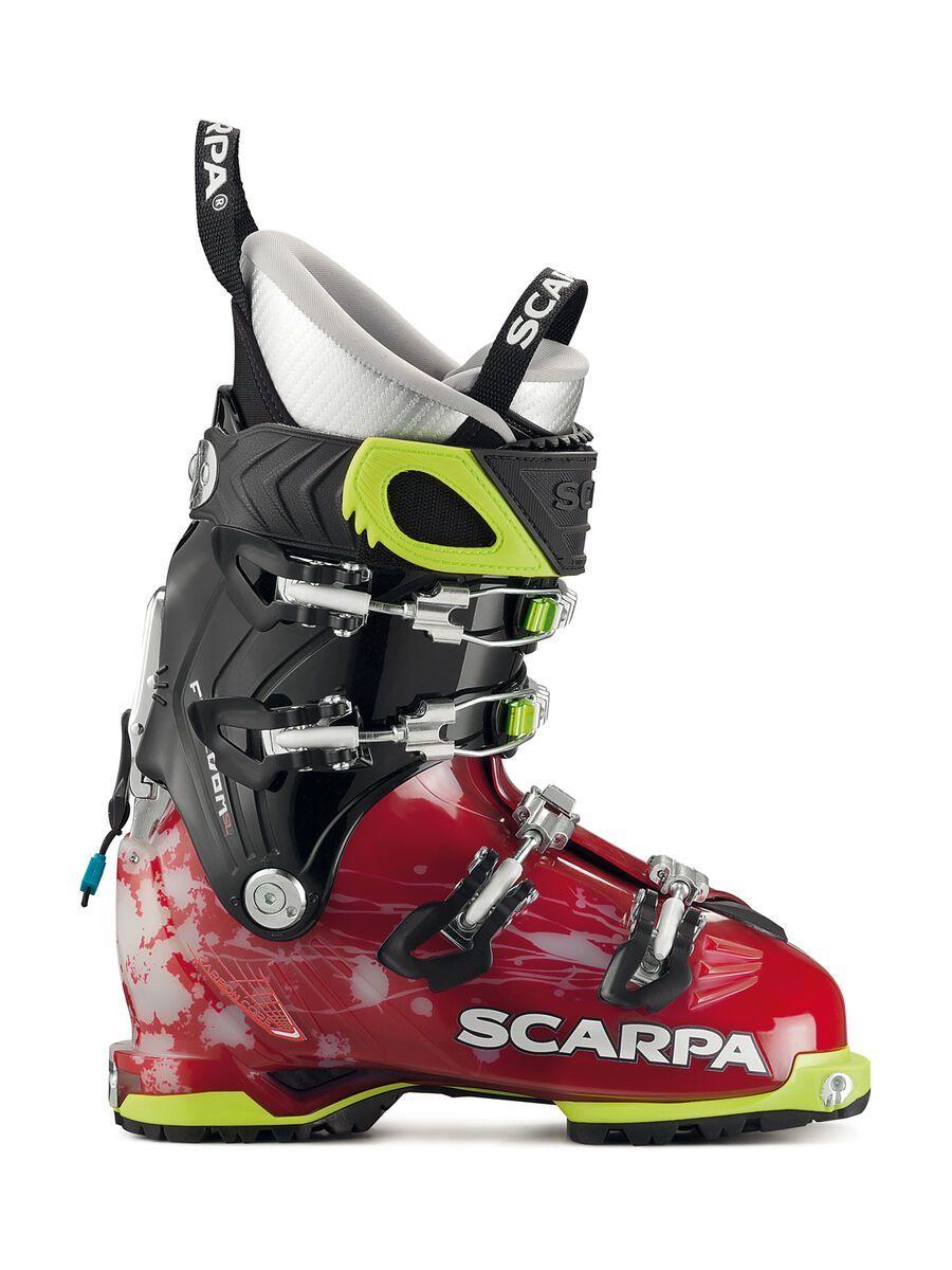 Scarpa Freedom SL Wmn 2018, scarlet/white - Skiboots, Größe 24.5 // 7.5 12008-L-245