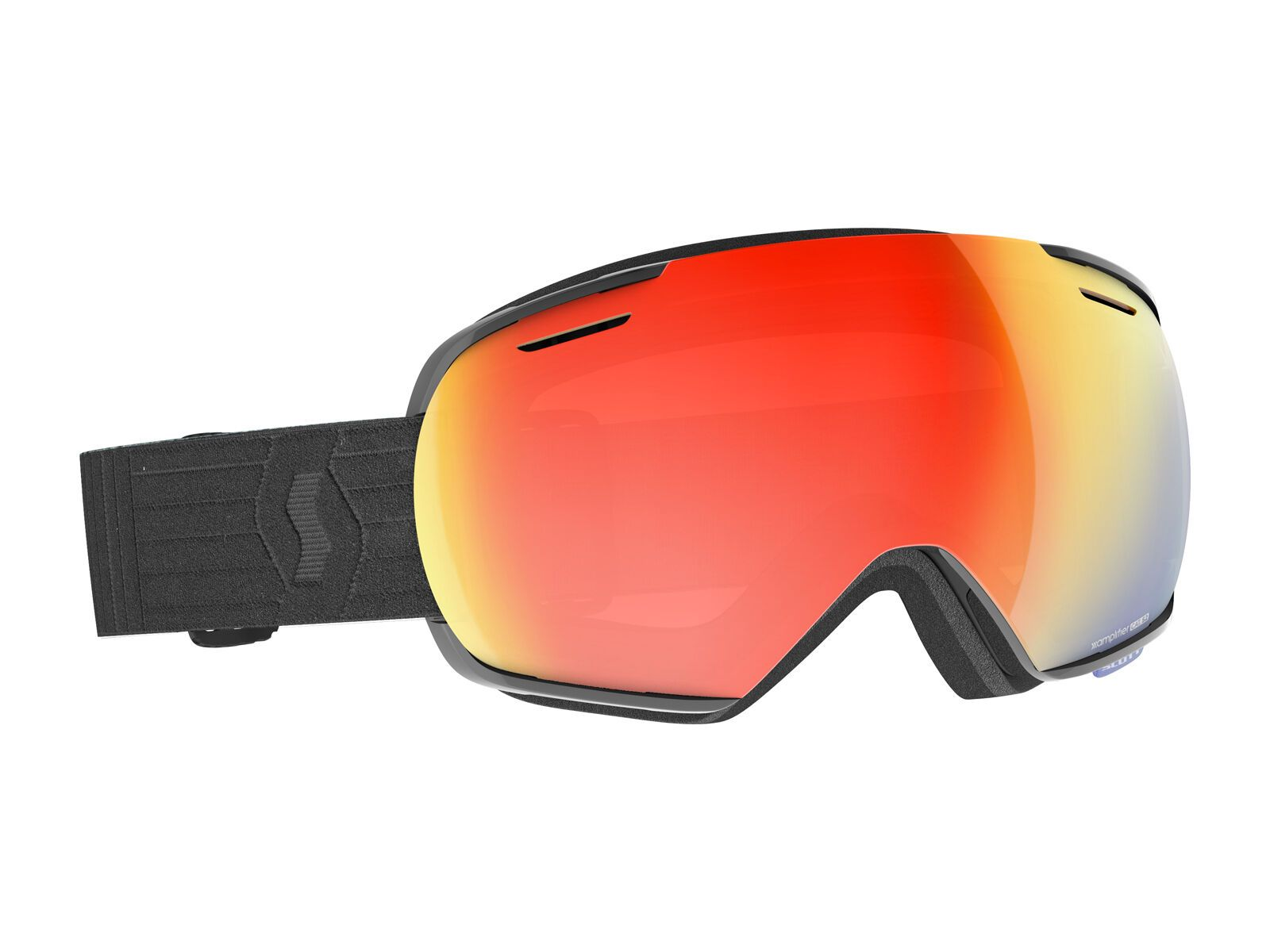 Scott Linx Goggle, black/Lens: enh red chrome - Skibrille 2778340001312