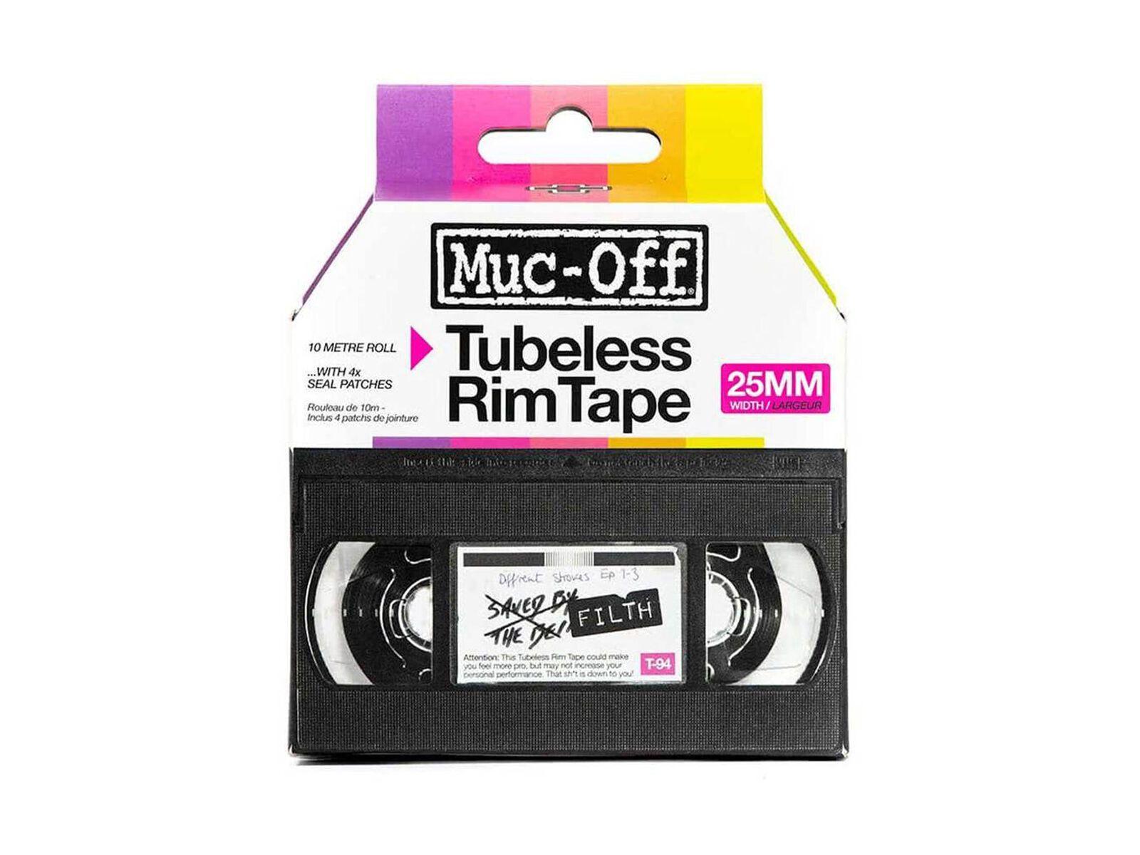 Muc-Off Tubeless Rim Tape - 25 mm - Felgenband MU-TIR-2068/36/25