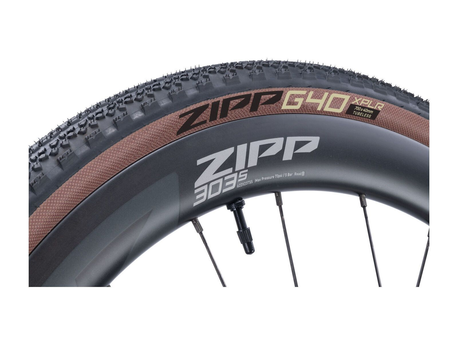 Zipp G40 XPLR - 700C tan sidewall 700x40C 622000012