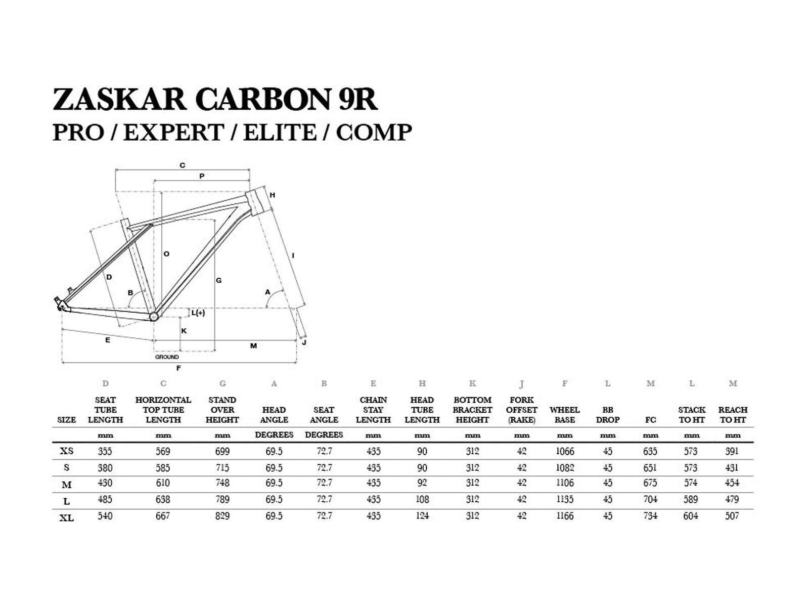 GT Zaskar Carbon Pro 9R, raw/yellow | Bild 6
