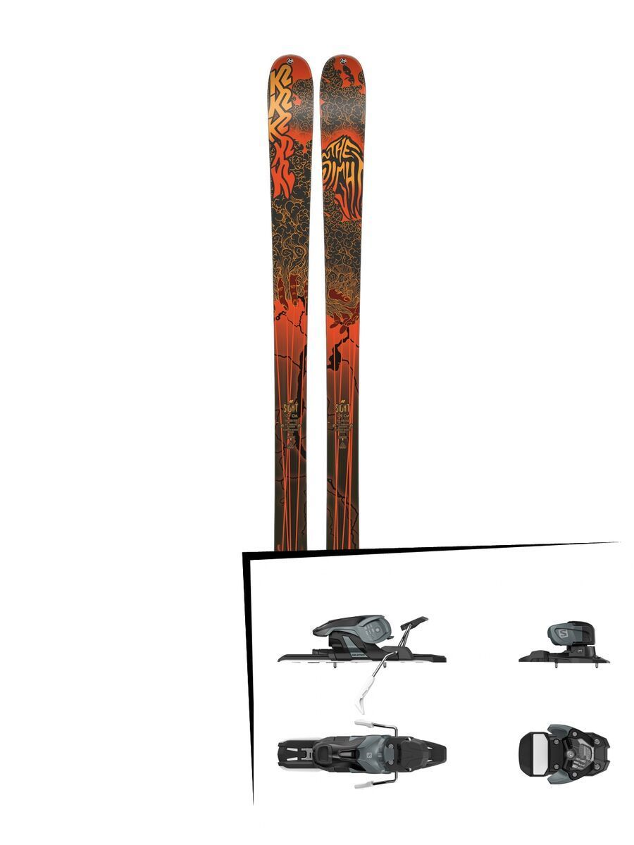 Set: K2 SKI Sight 2019 + Salomon Warden 11 dark grey/black | Bild 1