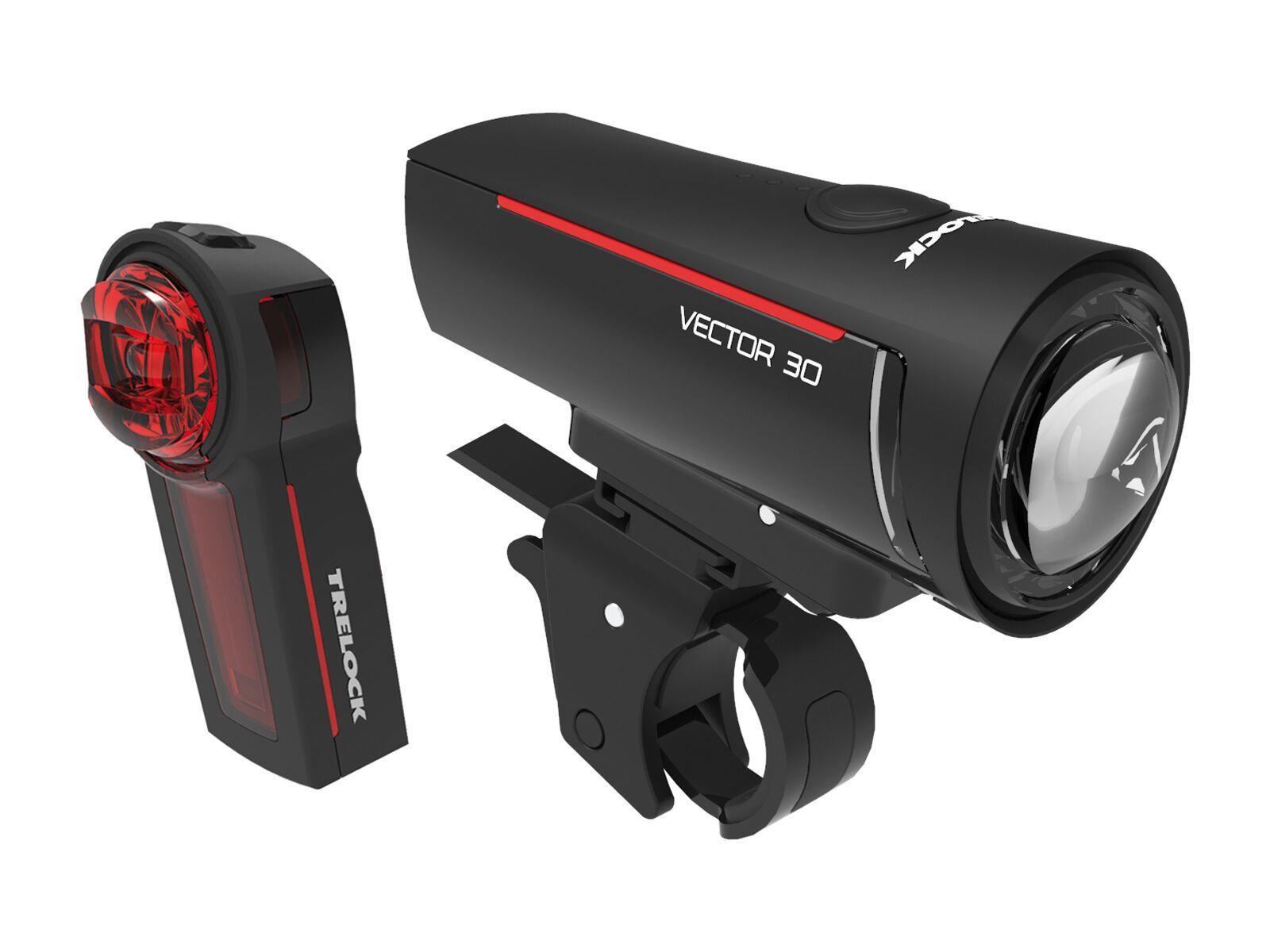 Trelock LS 300 I-Go Vector / LS 740 Vector - Beleuchtungsset 8005401