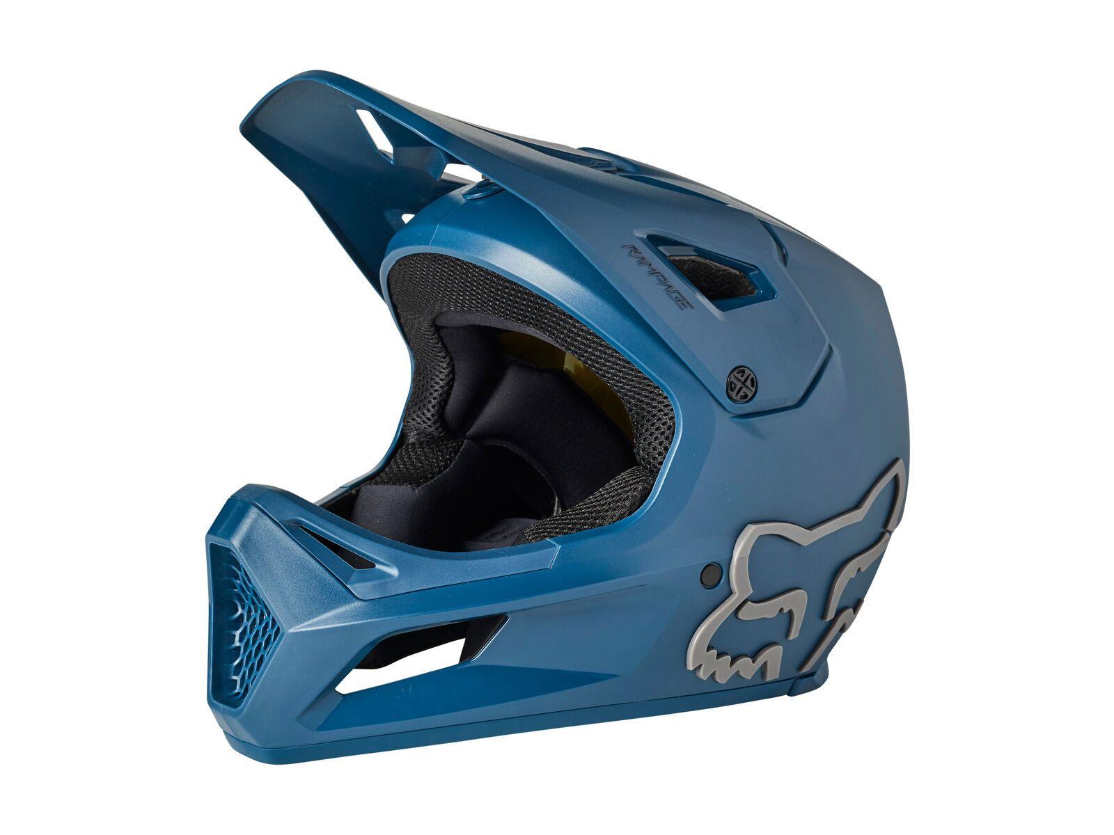 Fox Rampage Helmet dark indigo S // 55-56 cm 27509-203-S