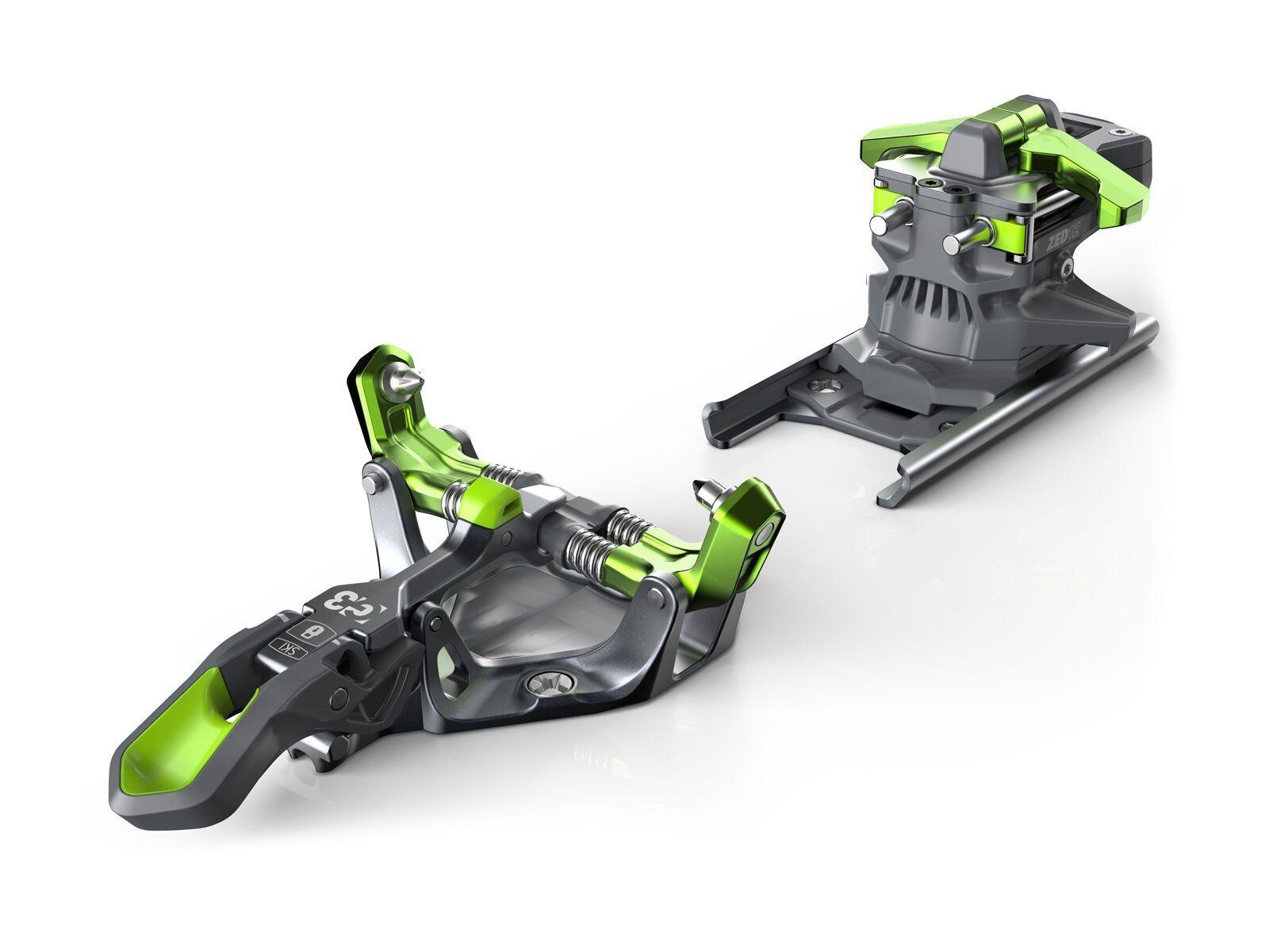 G3 ZED 12 ohne Bremse, green - Skibindung 007322