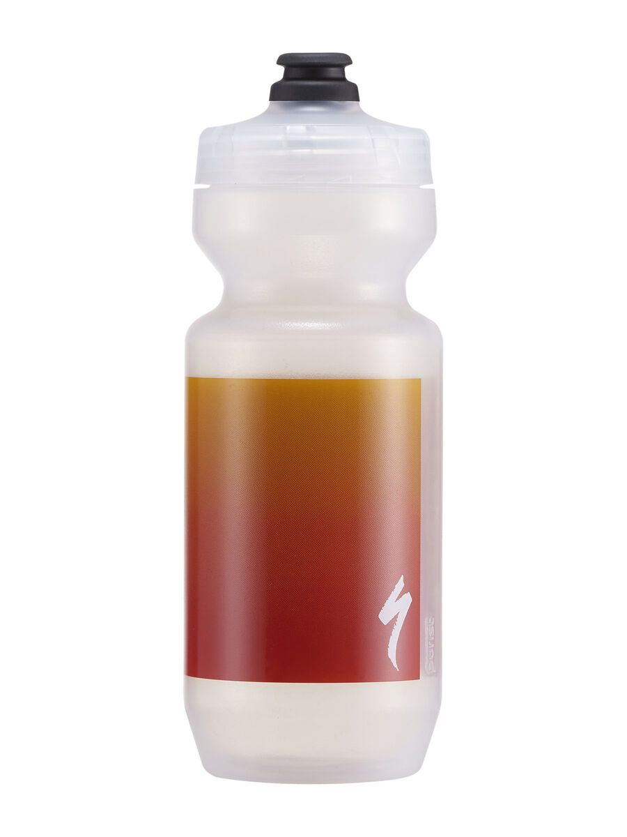 Specialized Purist MoFlo 0,65 L, clear/red gravity - Trinkflasche 44221-2231