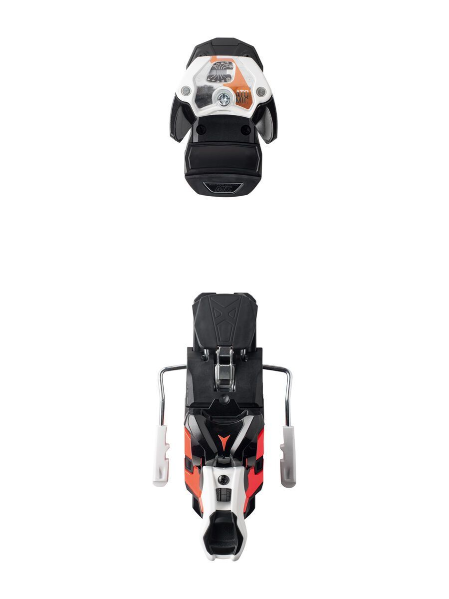 Set: Armada Arv 84 2018 + Atomic Warden MNC 13 white/black/orange | Bild 3