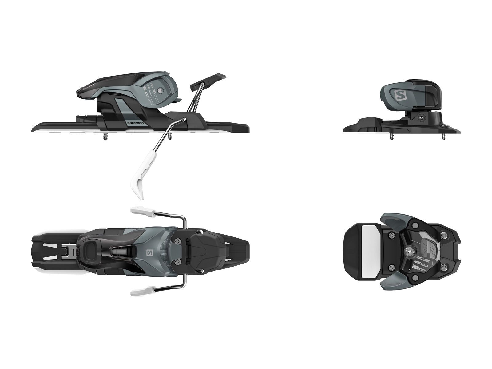 Set: K2 SKI Sight 2019 + Salomon Warden 11 dark grey/black | Bild 3