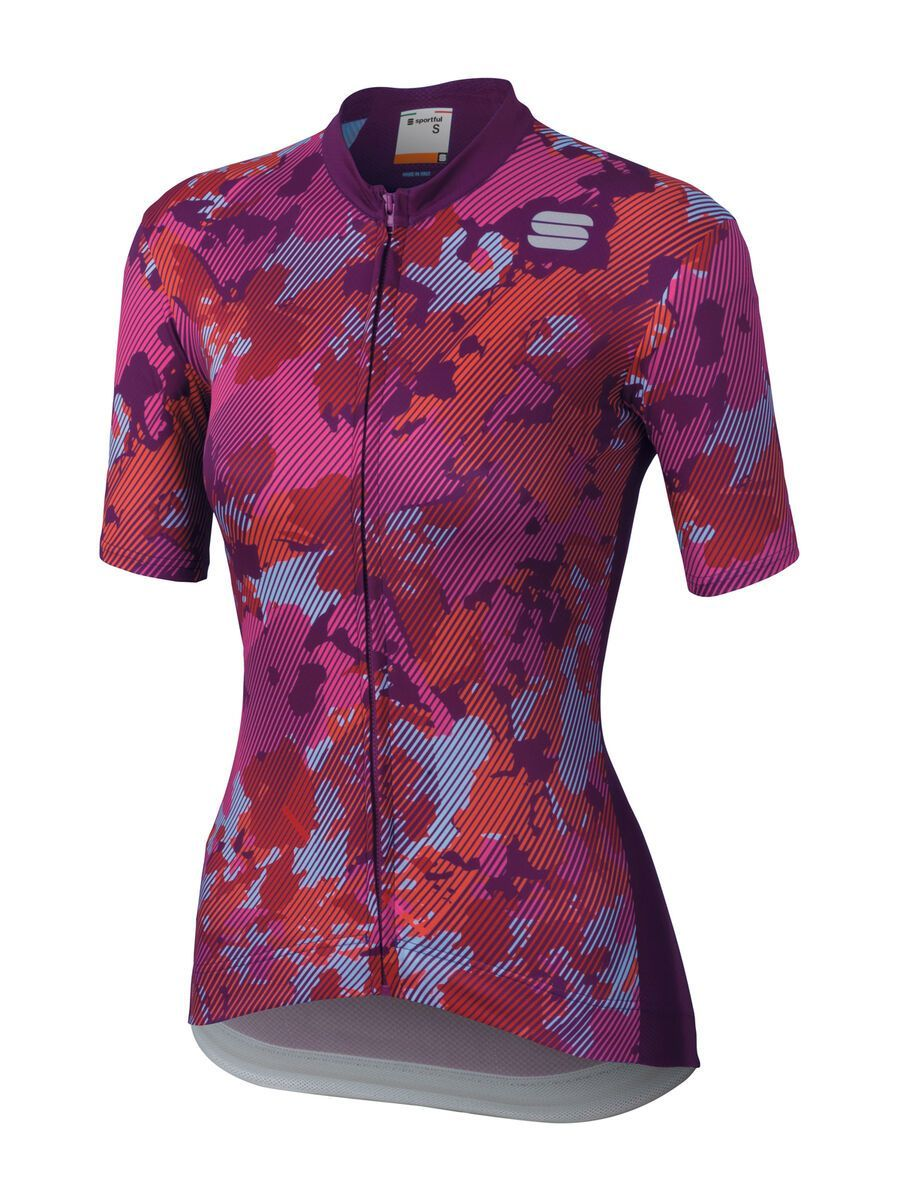 Sportful Loto Jersey, victorian/purple - Radtrikot, Größe M 1102036-530-M