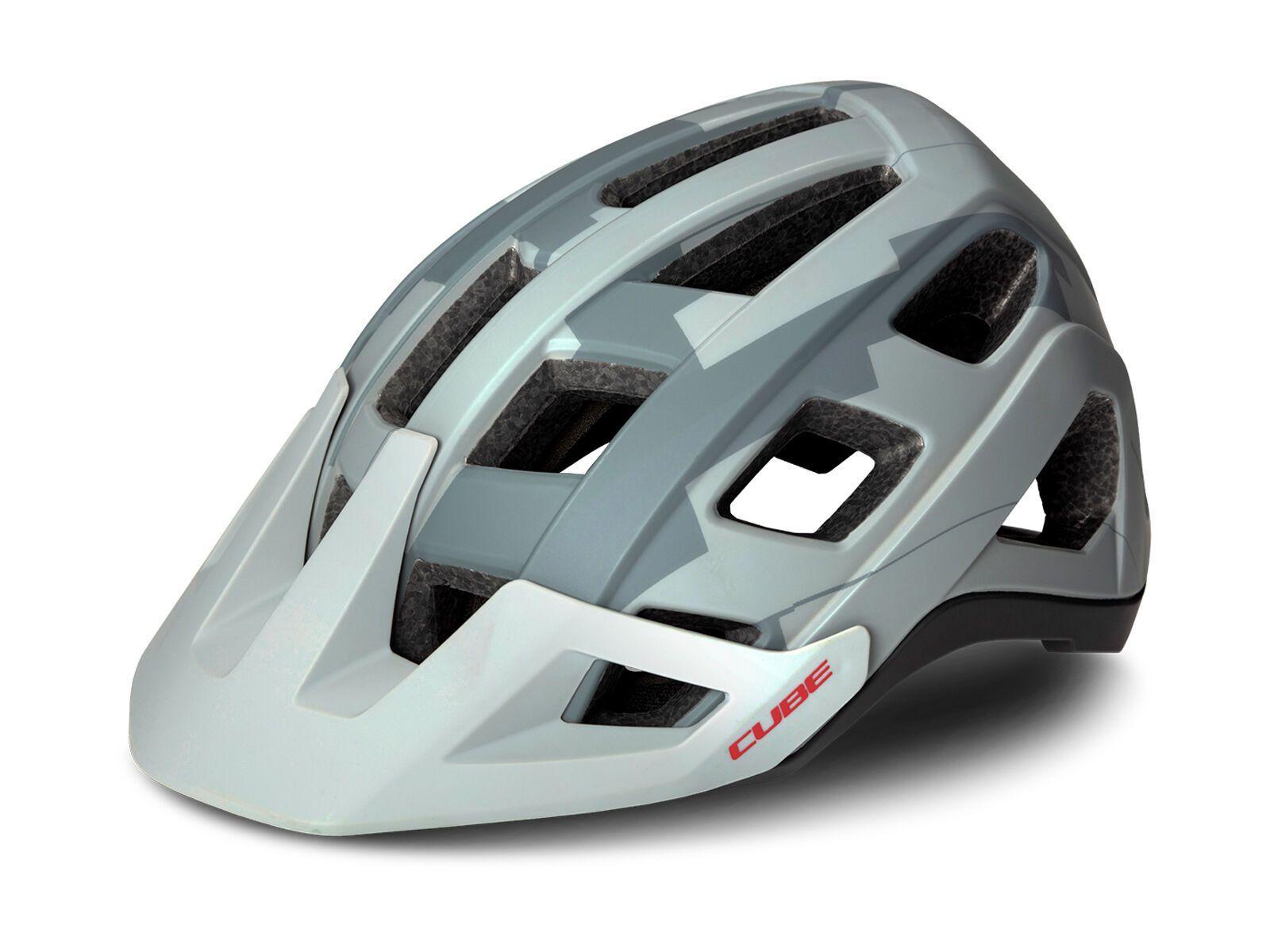 Cube Helm Badger grey camo S // 52-56 cm 161090286