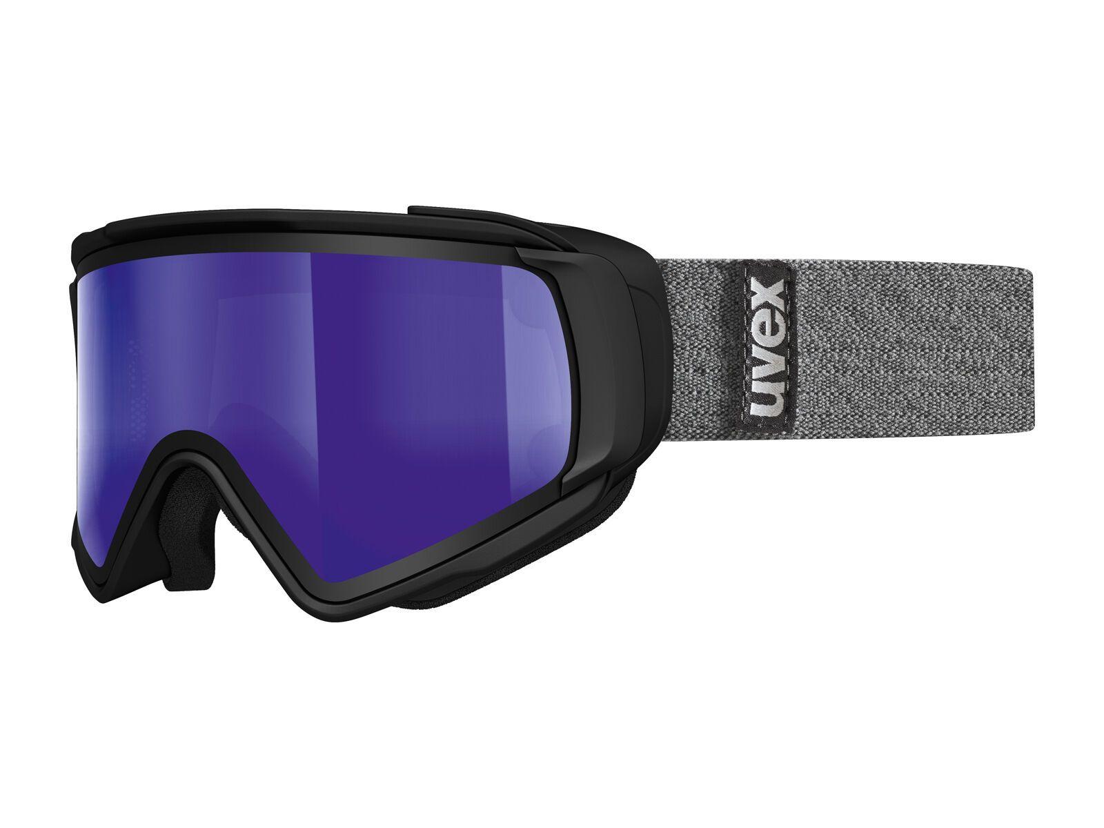 uvex Jakk TO, black mat/Lens: mirror blue | Bild 1