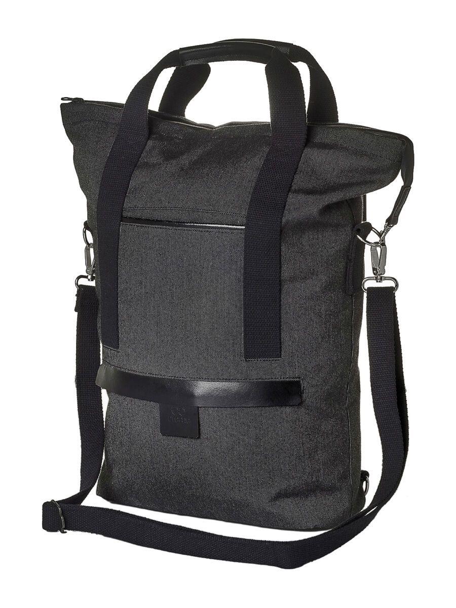 Creme Cycles Smart Shop Bag, dark grey - Fahrradtasche CR-BAG-0002-nos-205-dark-grey