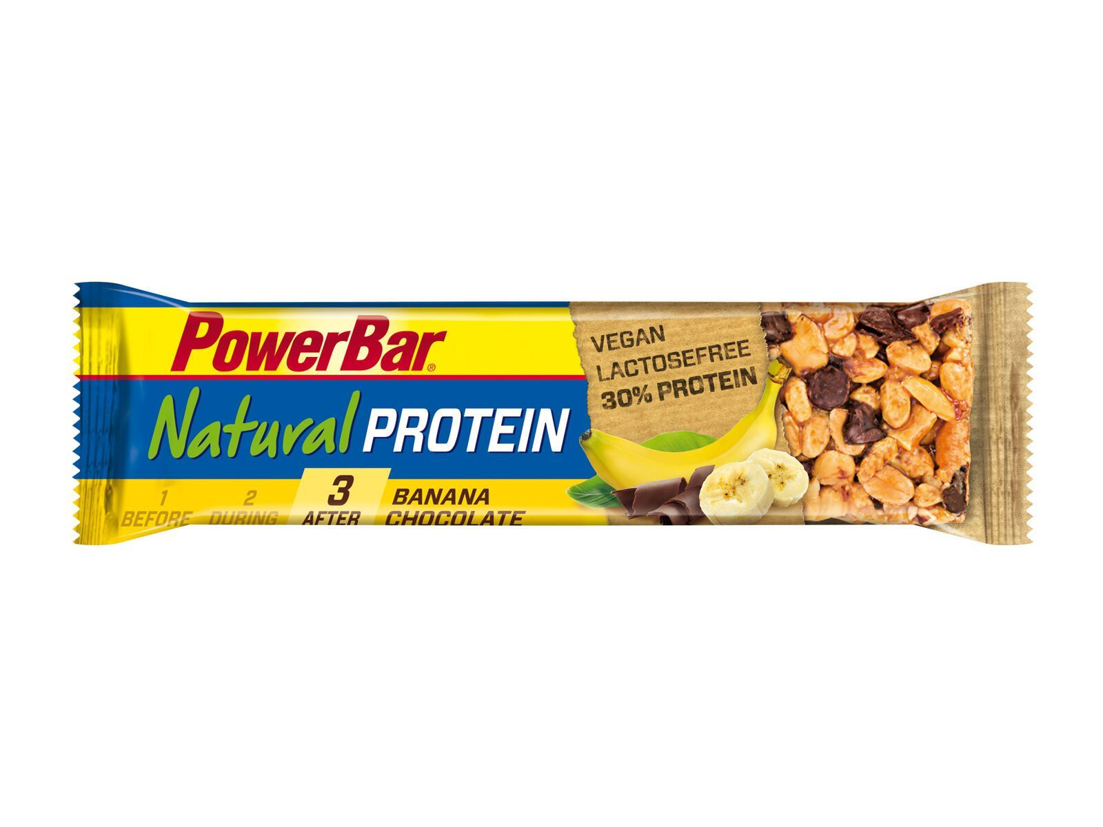 PowerBar Natural Protein (Vegan) - Banana Chocolate - Proteinriegel 21570400