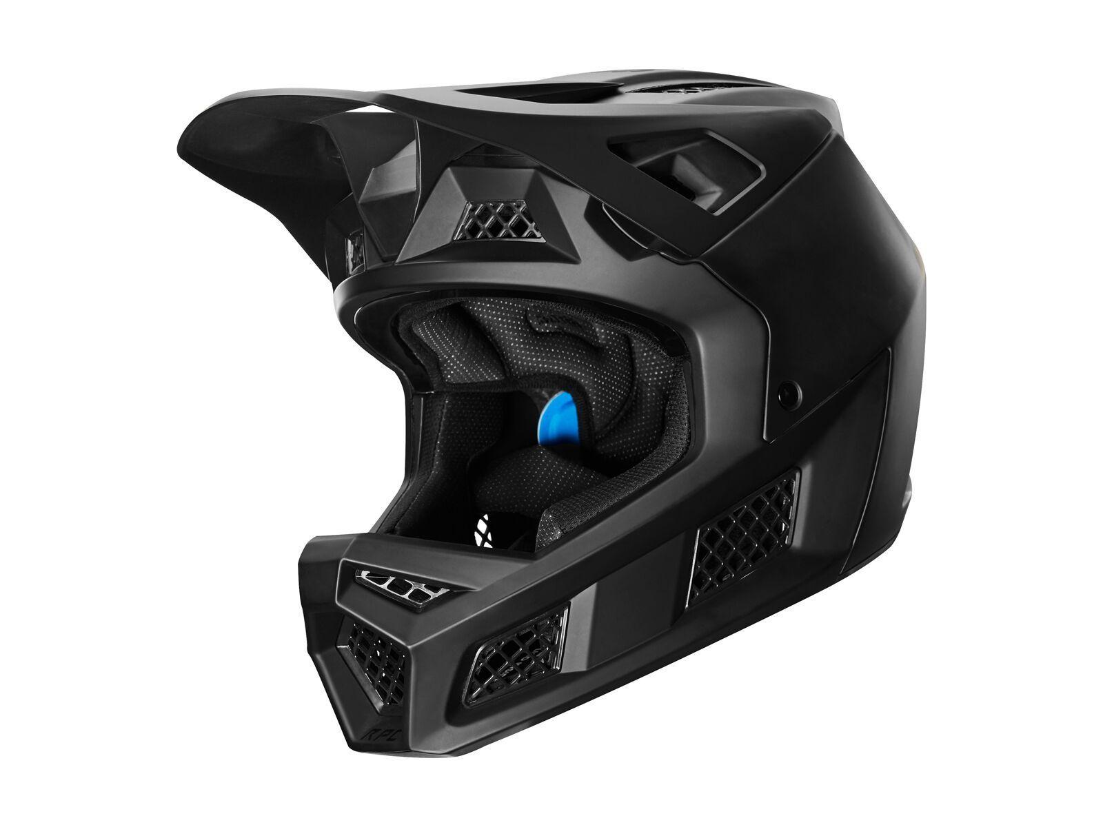 Fox Rampage Pro Carbon Helmet, matte black - Fahrradhelm, Größe S // 55-56 cm 26796-255-S