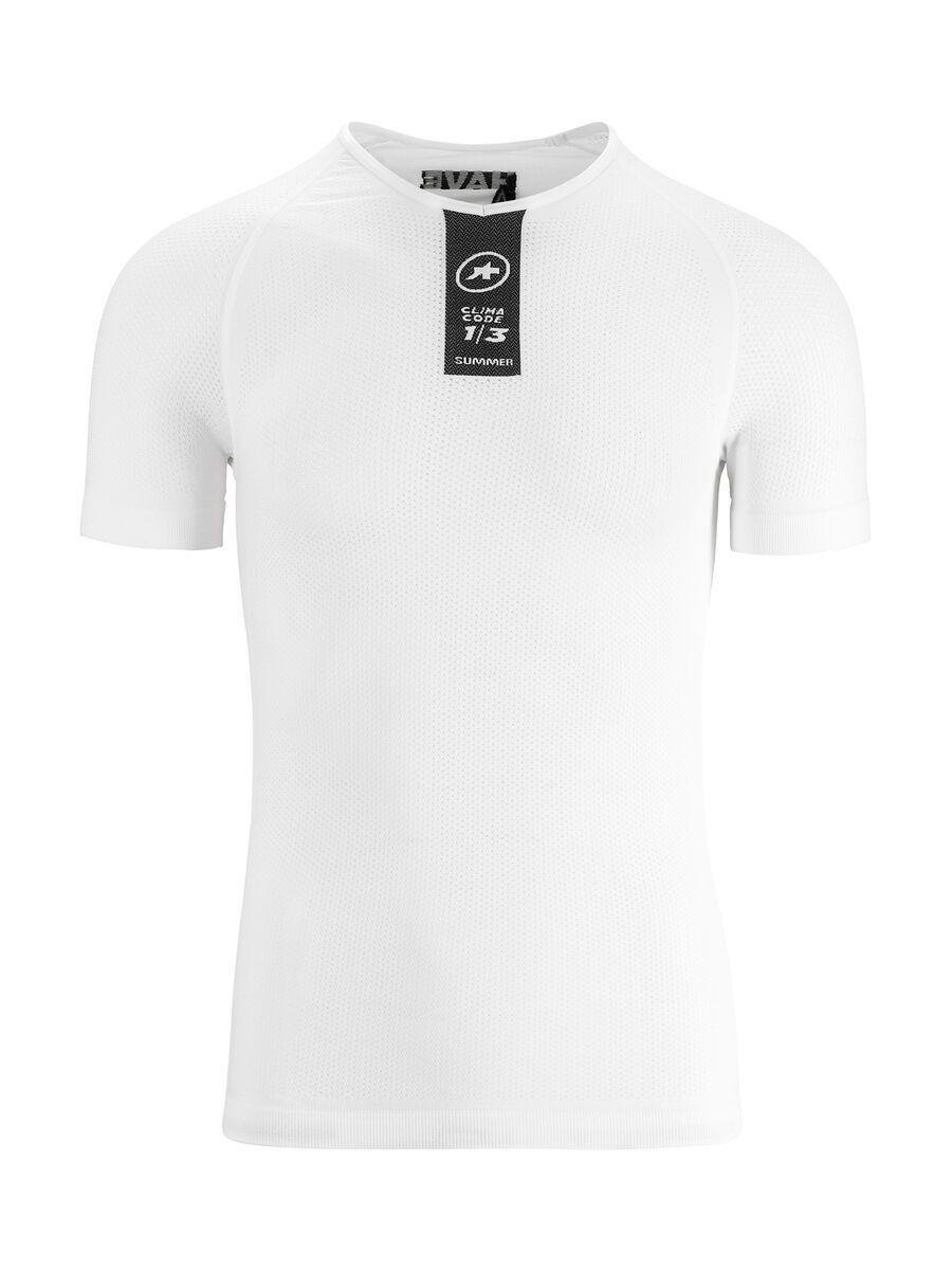 Assos Skinfoil SS Summer Base Layer, holywhite - Unterhemd, Größe XLG/TIR P13.40.423.57.III