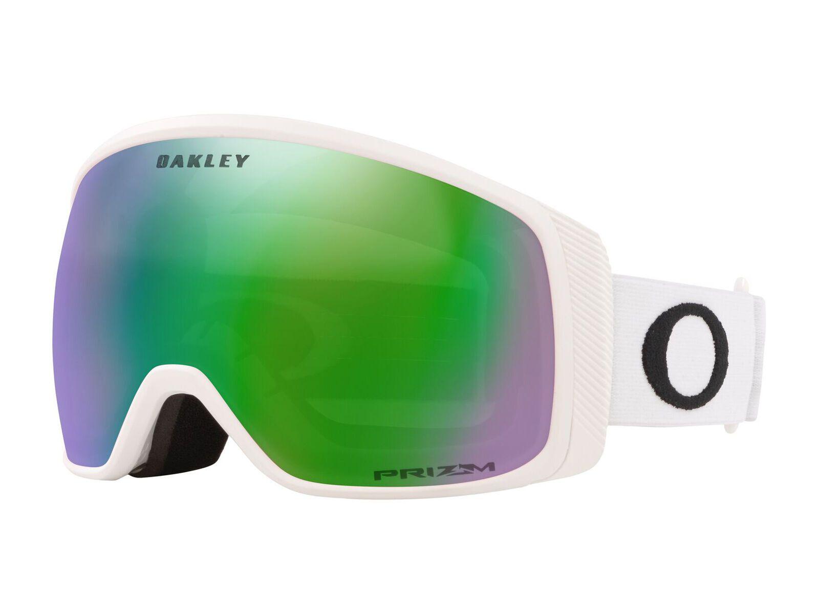 Oakley Flight Tracker XM - Prizm Jade Iridium matte white OO7105-12