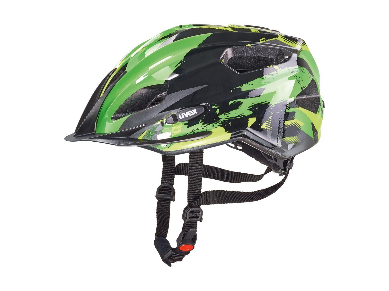 uvex Quatro Junior, black-green   Bild 1
