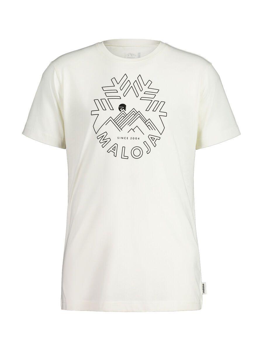 Maloja ChuzamM., vintage white - T-Shirt, Größe S 30503-1-8179-S