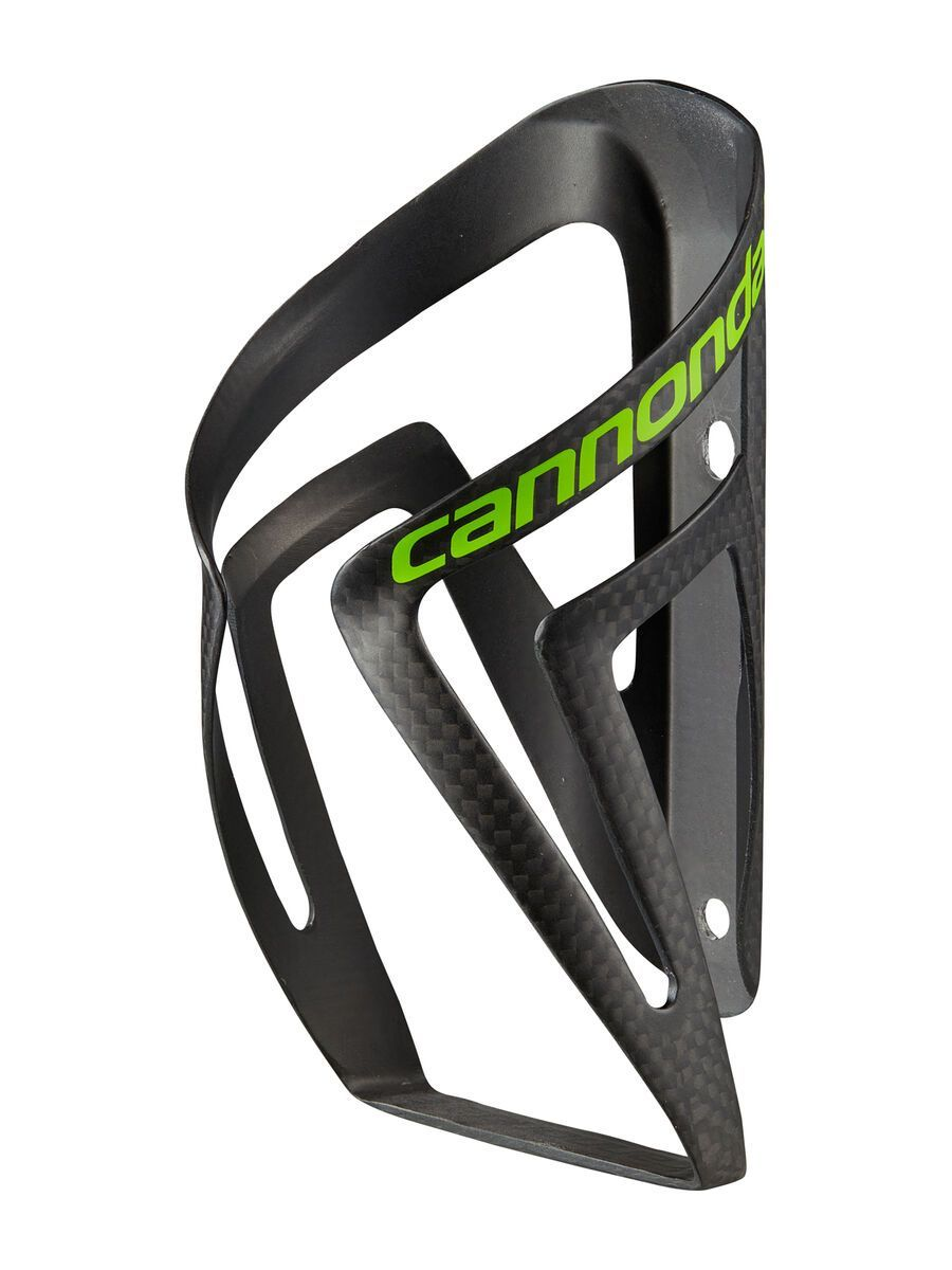 Cannondale Carbon Speed C-SL Cage, black/green - Flaschenhalter CU4140OS23