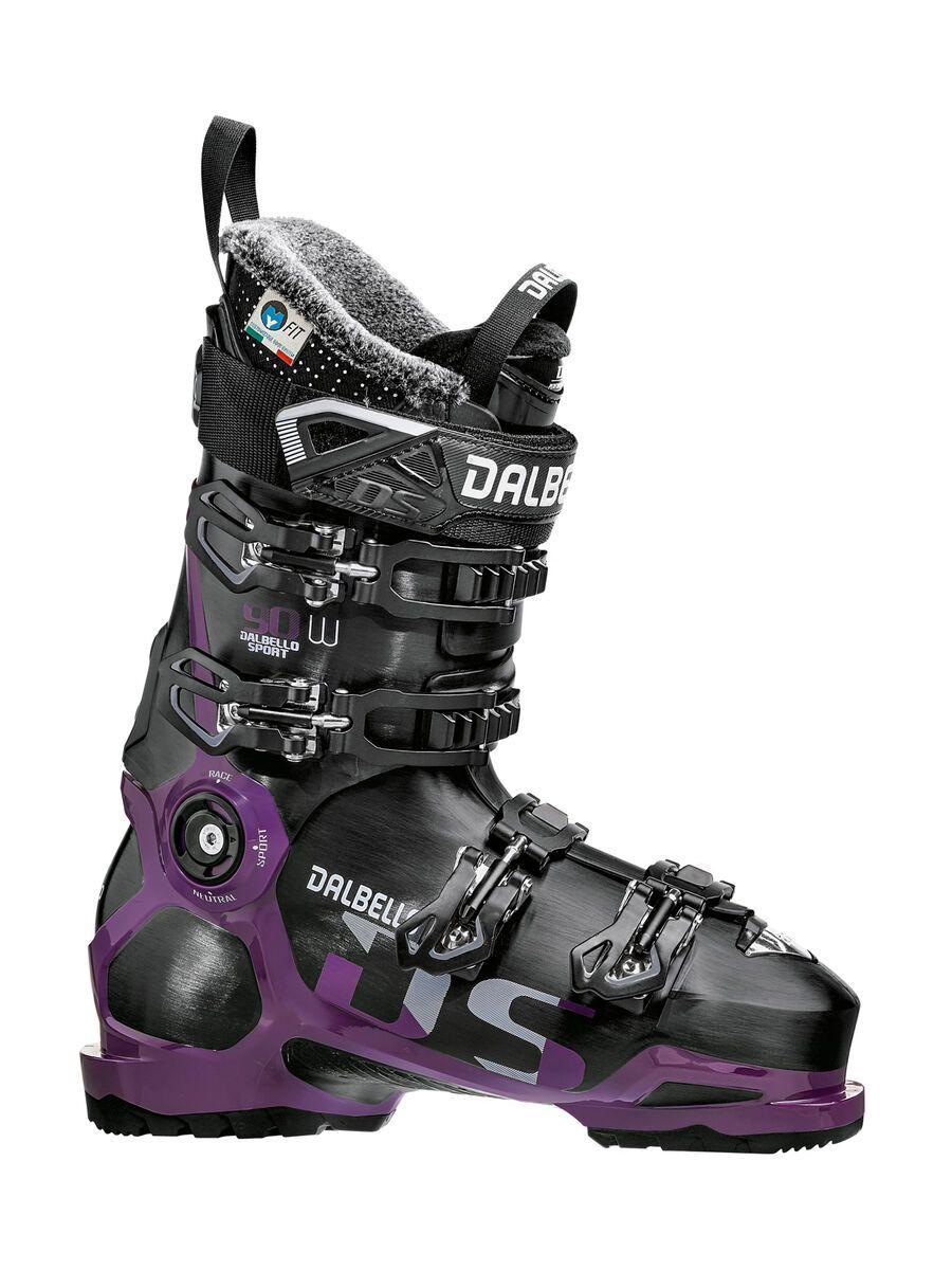 Dalbello DS 90 W 2019, black/grape - Skiboots, Größe 23.5 D1803022.00.235