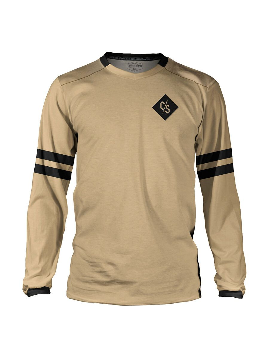 Loose Riders C/S Heritage Jersey LS Heritage Sand multi color XL LR-KMJL-20001-NCL-104