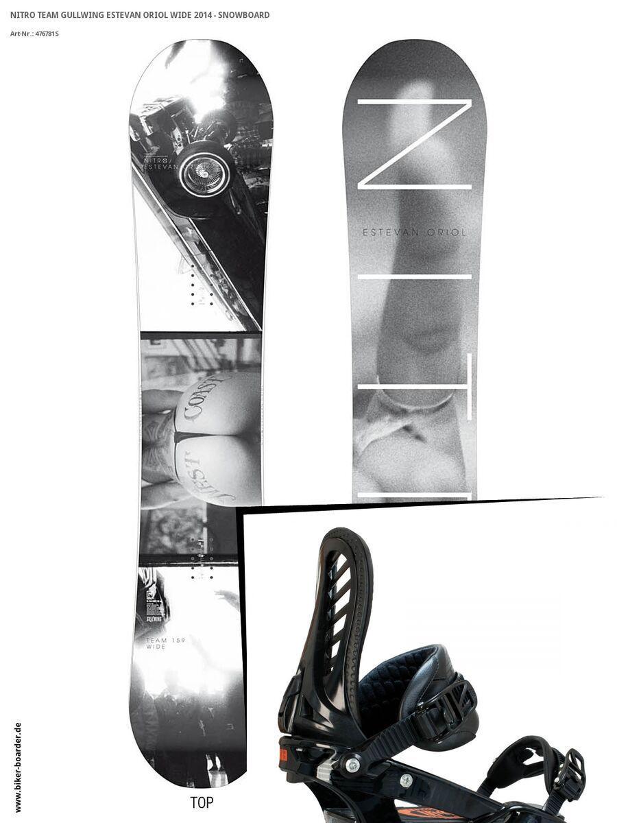 Set: Nitro Team Gullwing Estevan Oriol Wide  +  Pusher (476840S) | Bild 1
