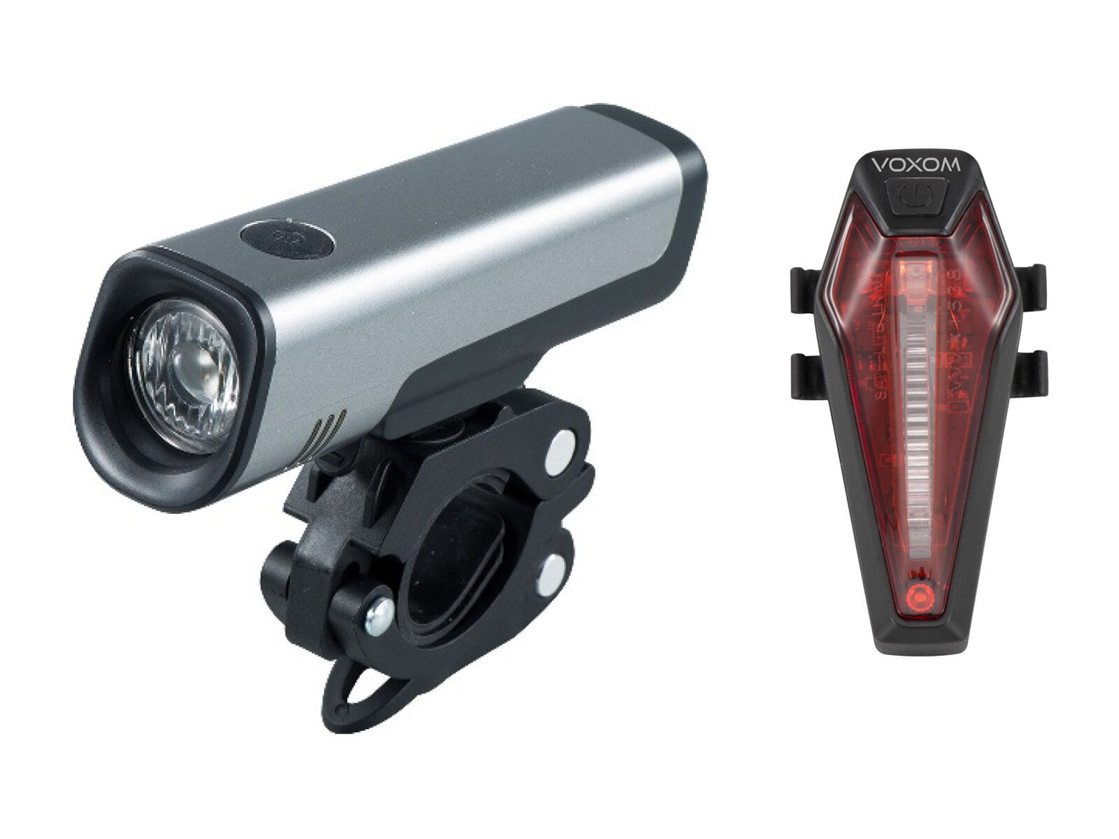 Voxom Fahrradbeleuchtung Set Lv11/Lh7 720000030