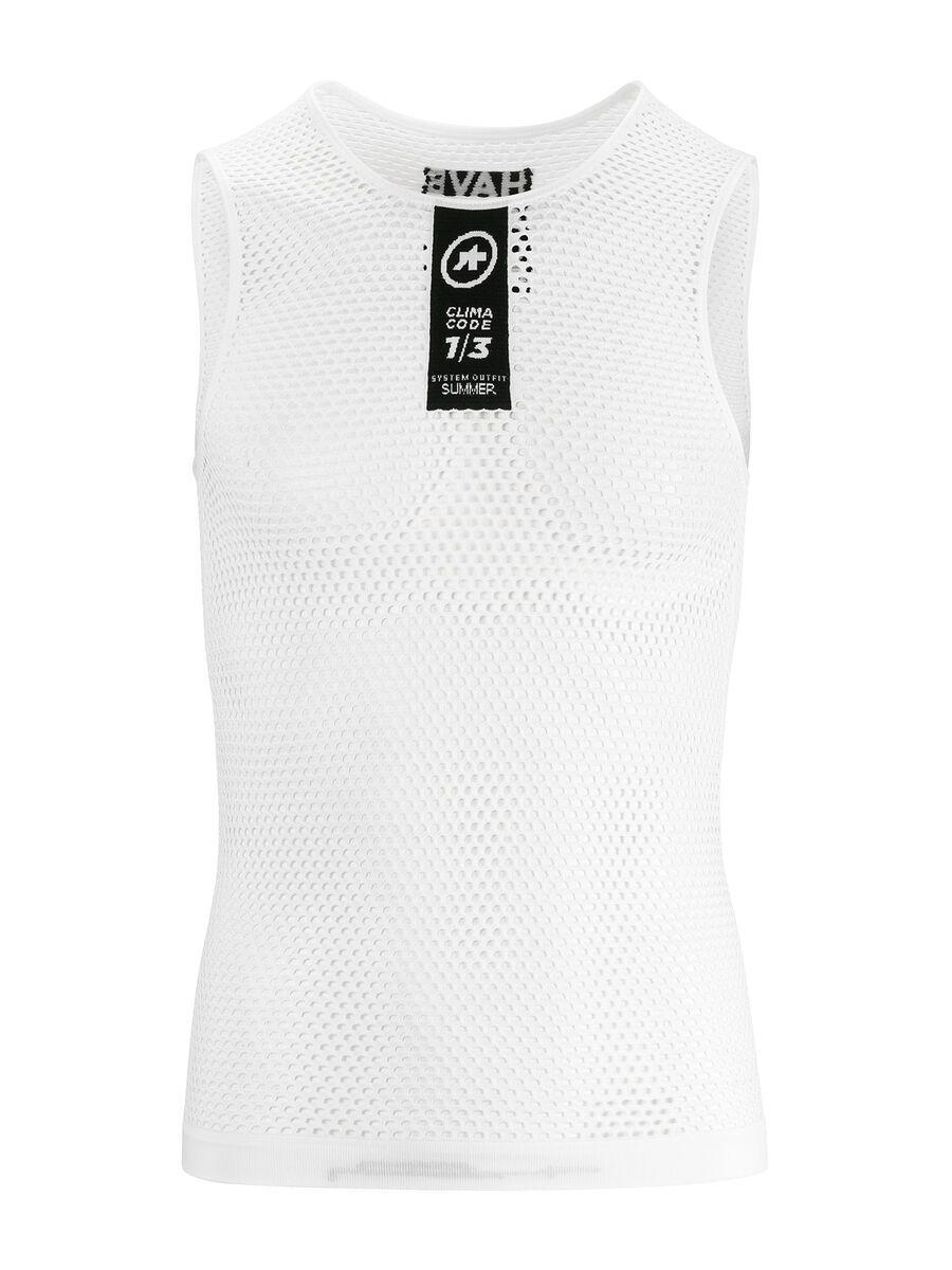 Assos Skinfoil NS Summer Base Layer, holywhite - Unterhemd, Größe XXS/XS P13.40.422.57.0
