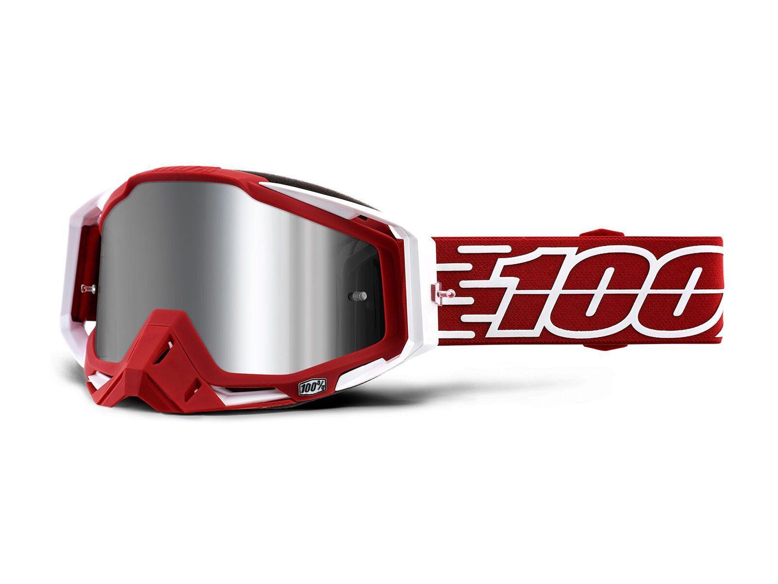 100% Racecraft Plus - Silver Flash Mirror gustavia HU-GOG-0012-unis-1168-Gustavia