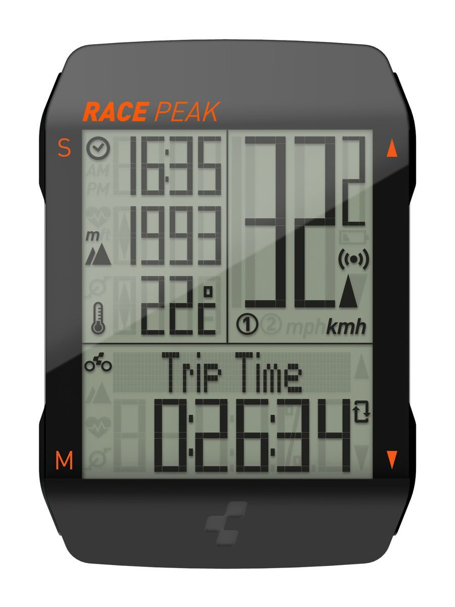 Cube Fahrradcomputer Race Peak black 140270000